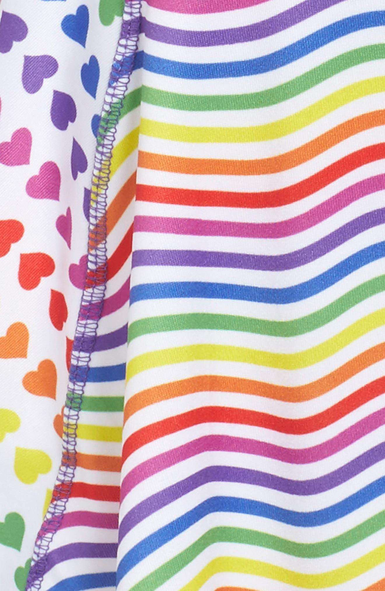 Flow Mixed Print Dress,                             Alternate thumbnail 40, color,