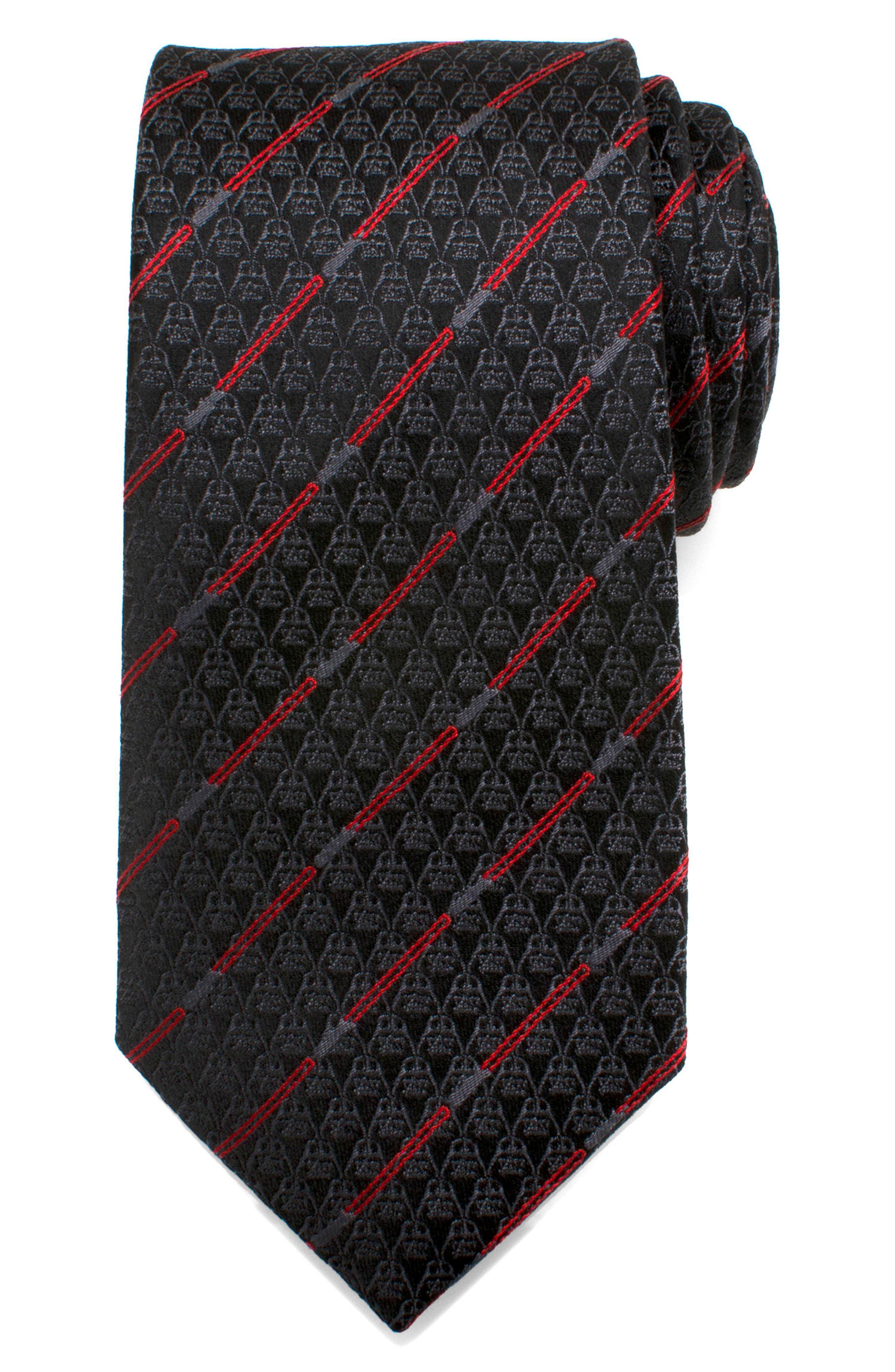Cufflinks Inc. Darth Vader Light Saber Silk Tie,                             Alternate thumbnail 2, color,