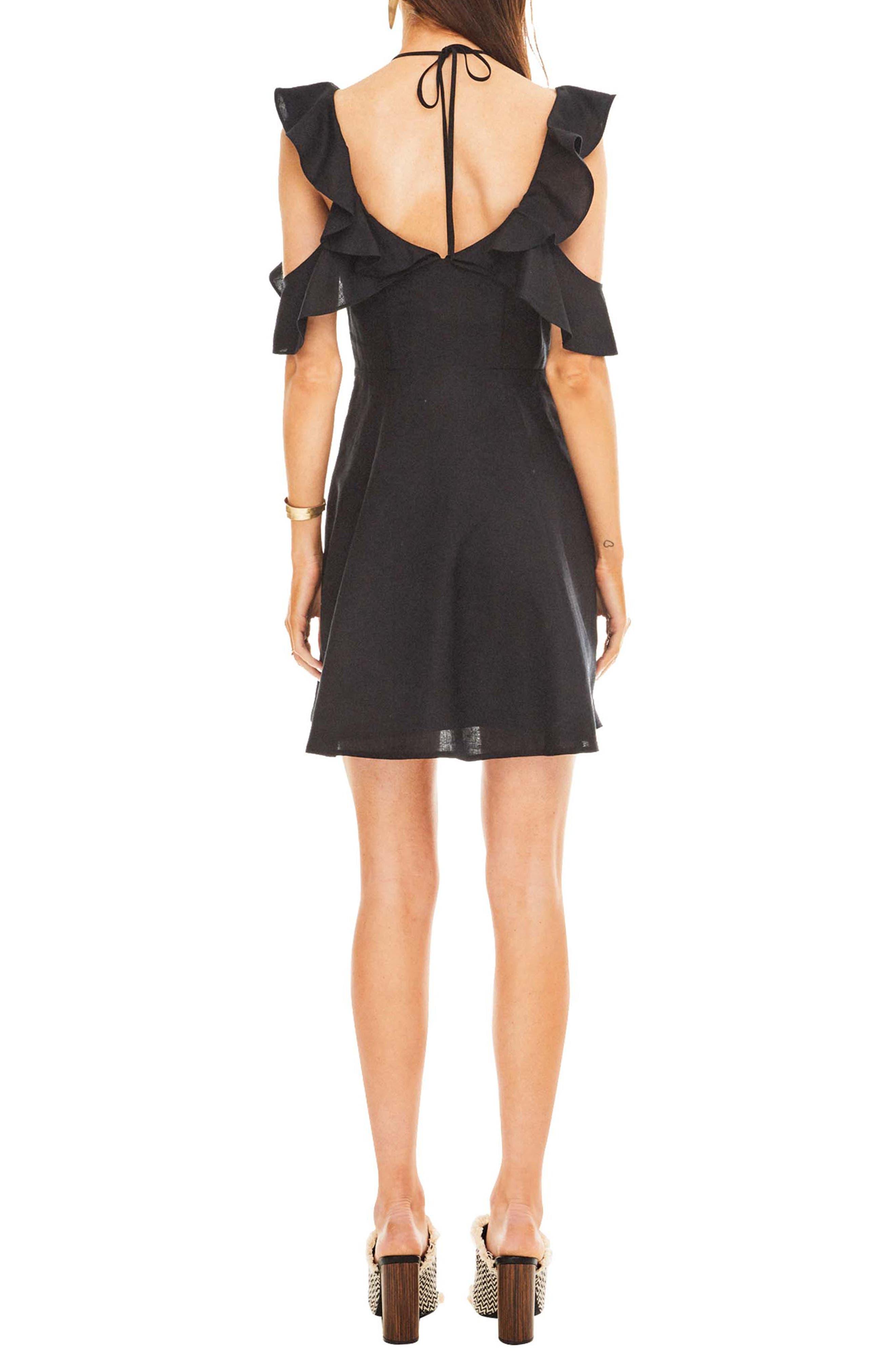Emi Dress,                             Alternate thumbnail 2, color,                             BLACK