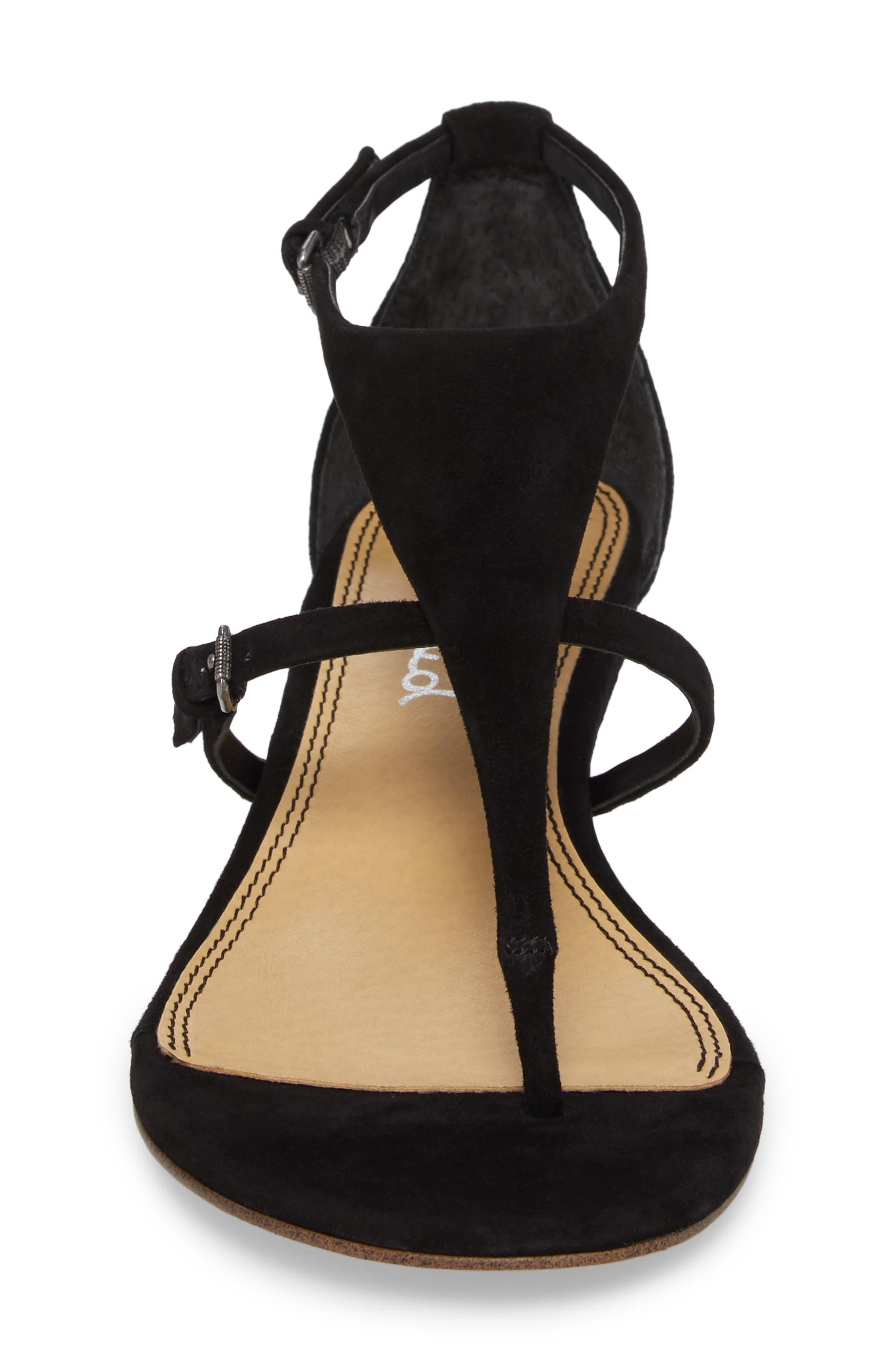 Brooklyn V-Strap Wedge Sandal,                             Alternate thumbnail 13, color,