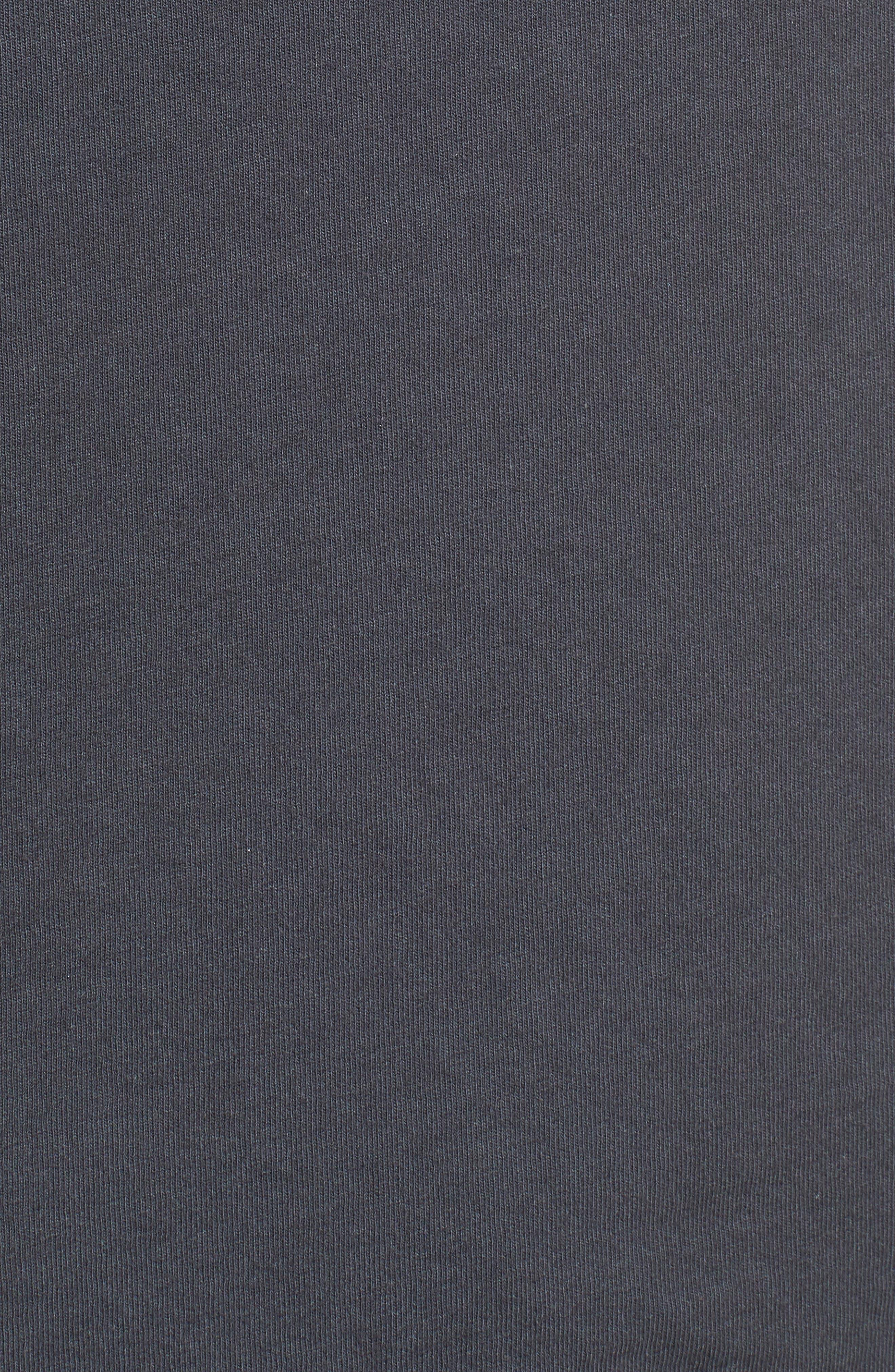 Joe Cool Checkerboard Tee,                             Alternate thumbnail 5, color,                             BLACK