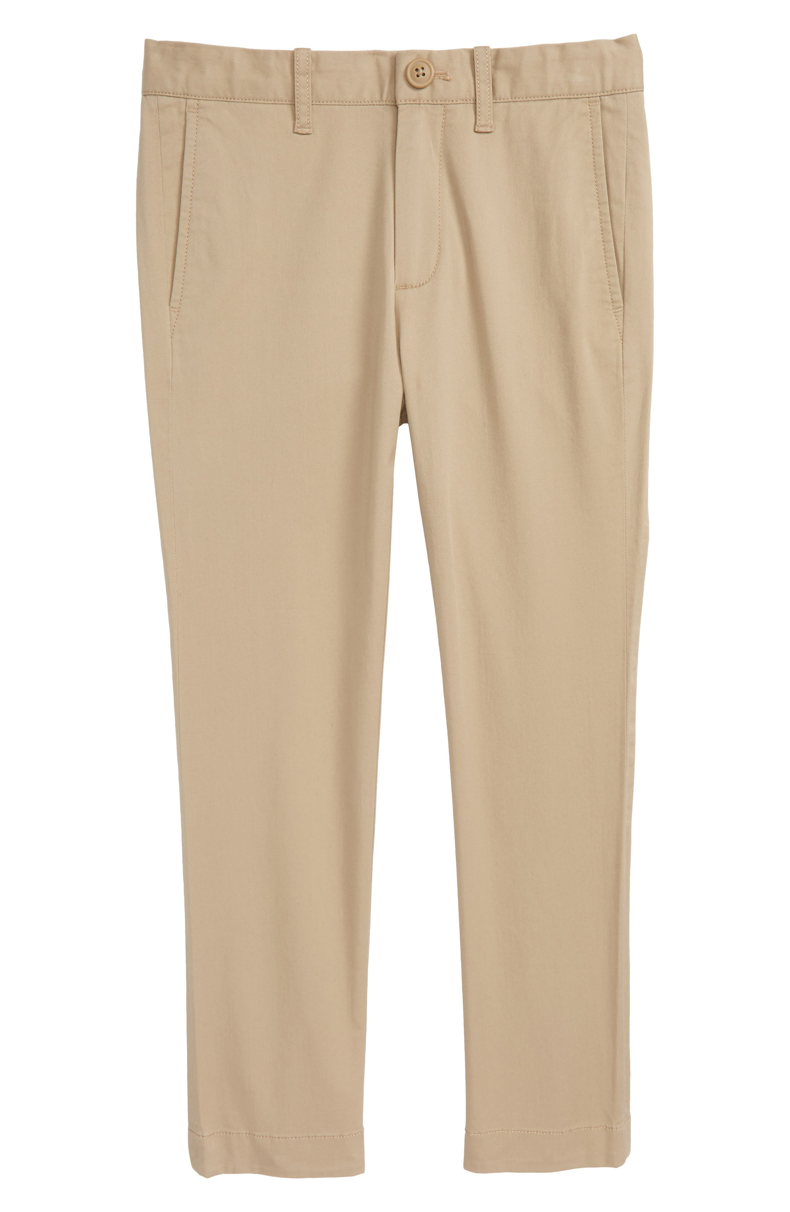 CREWCUTS BY J.CREW Skinny Stretch Chino Pants, Main, color, 250