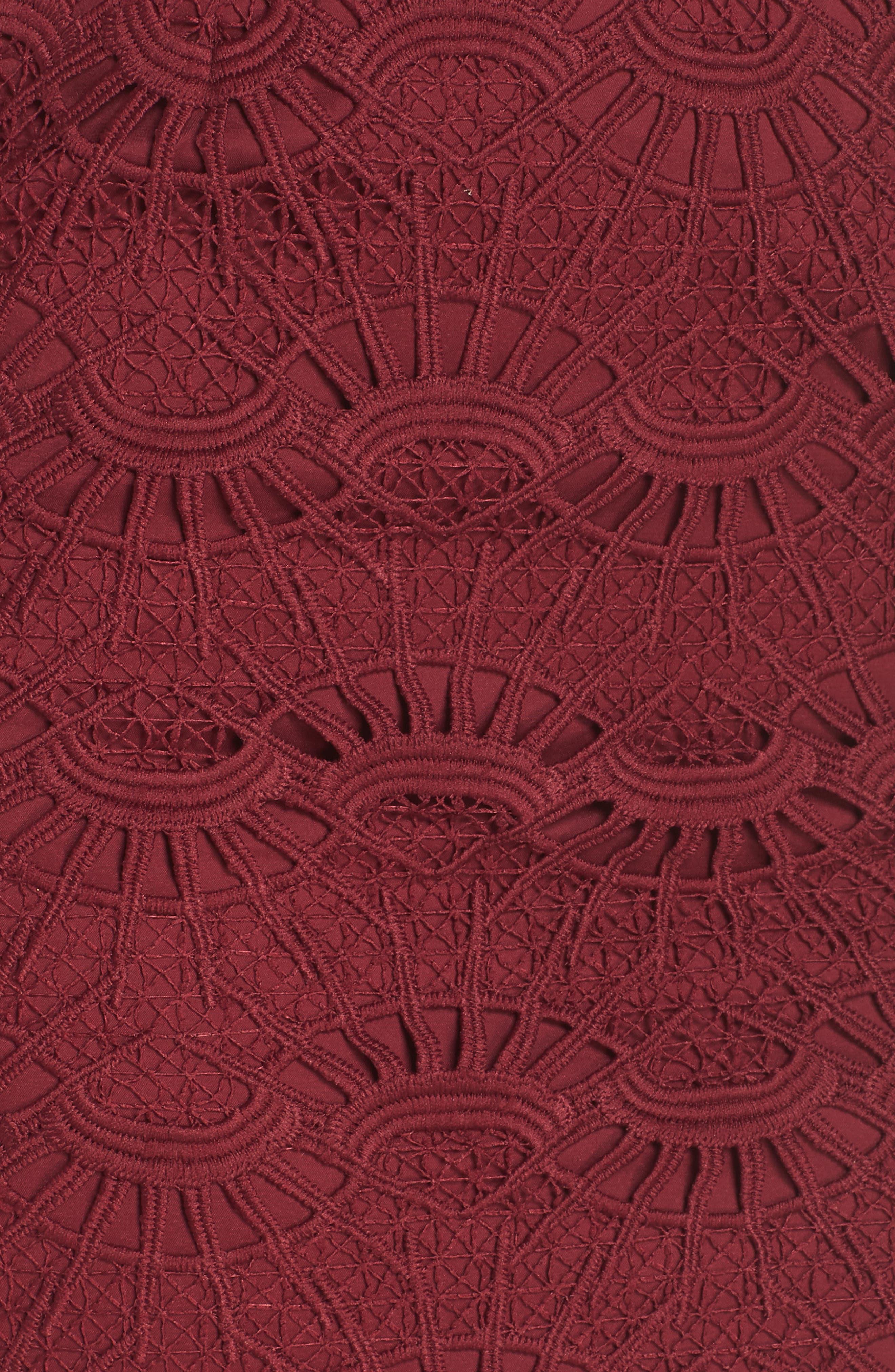 Mariano Lace Sheath Dress,                             Alternate thumbnail 7, color,                             601