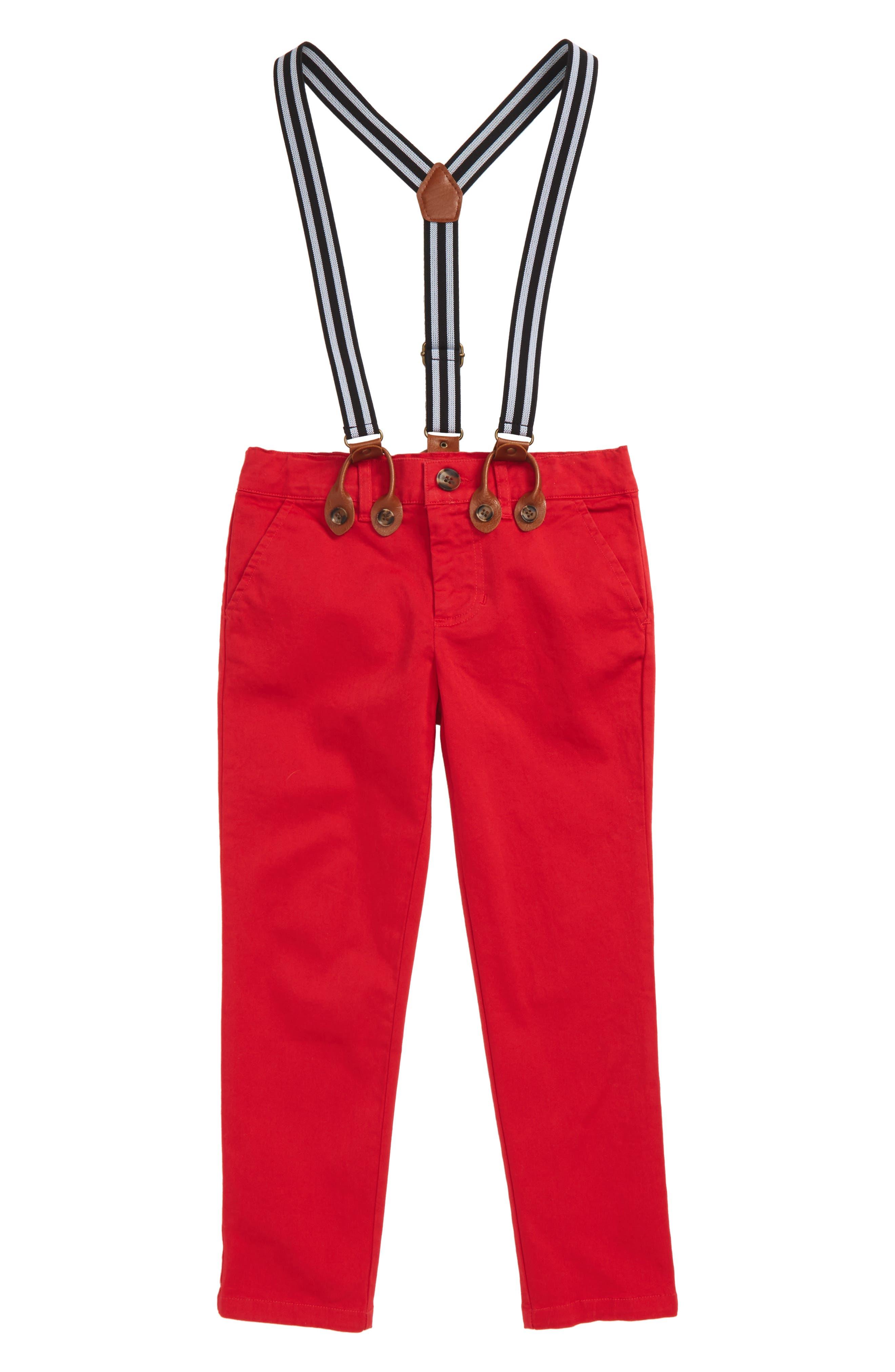 Basic Chino Pants & Suspenders,                             Main thumbnail 1, color,                             620