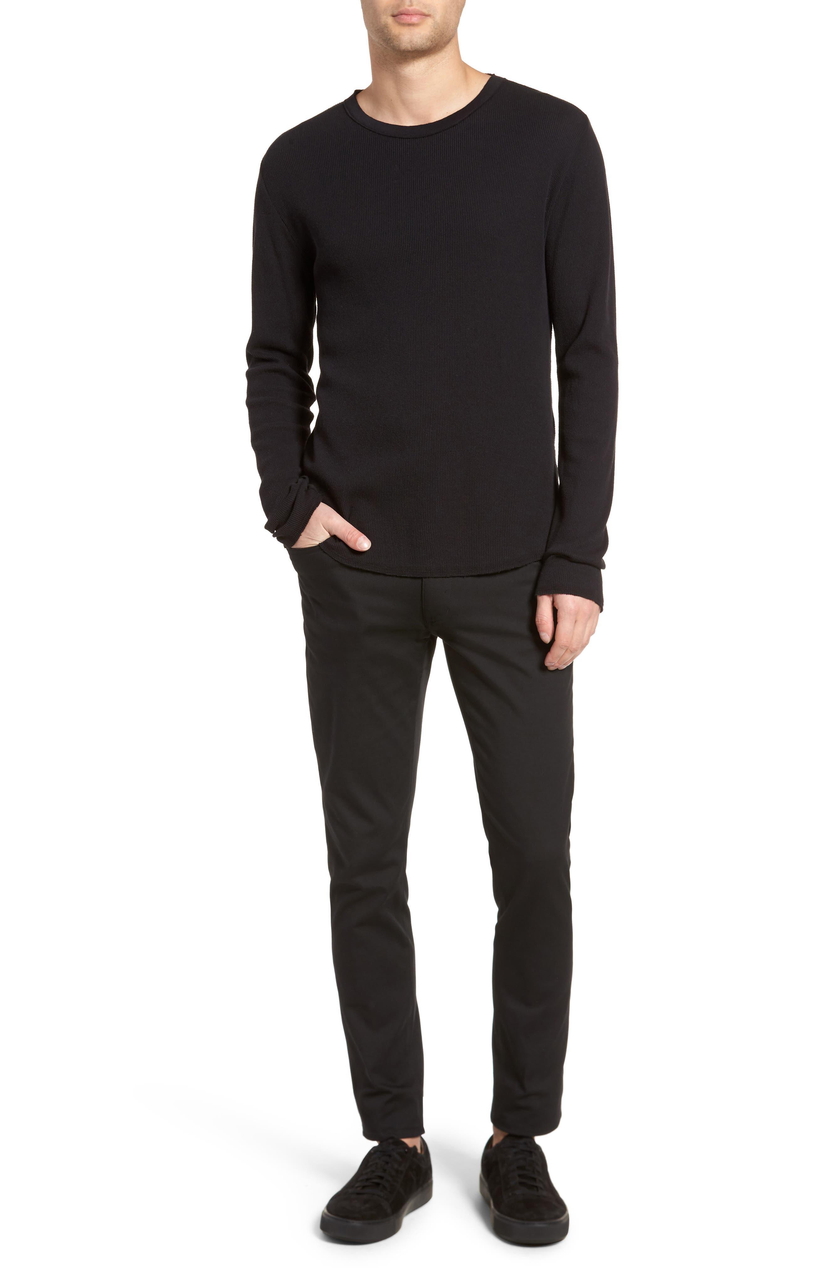 Thermal Knit Long Sleeve T-Shirt,                             Alternate thumbnail 19, color,