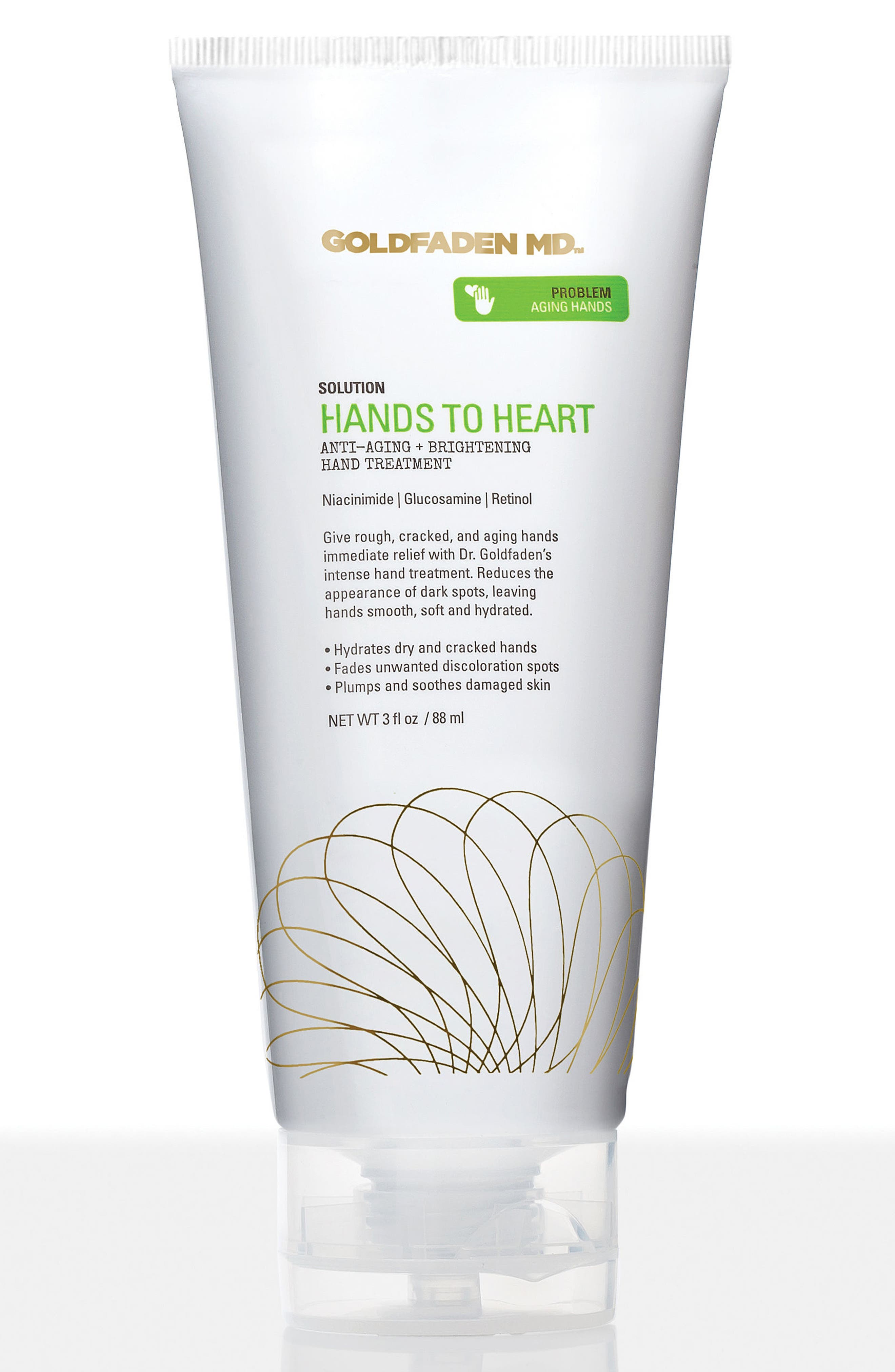 SPACE.NK.apothecary Goldfaden MD Hands to Heart Anti-Aging + Brightening Hand Treatment,                             Main thumbnail 1, color,                             000