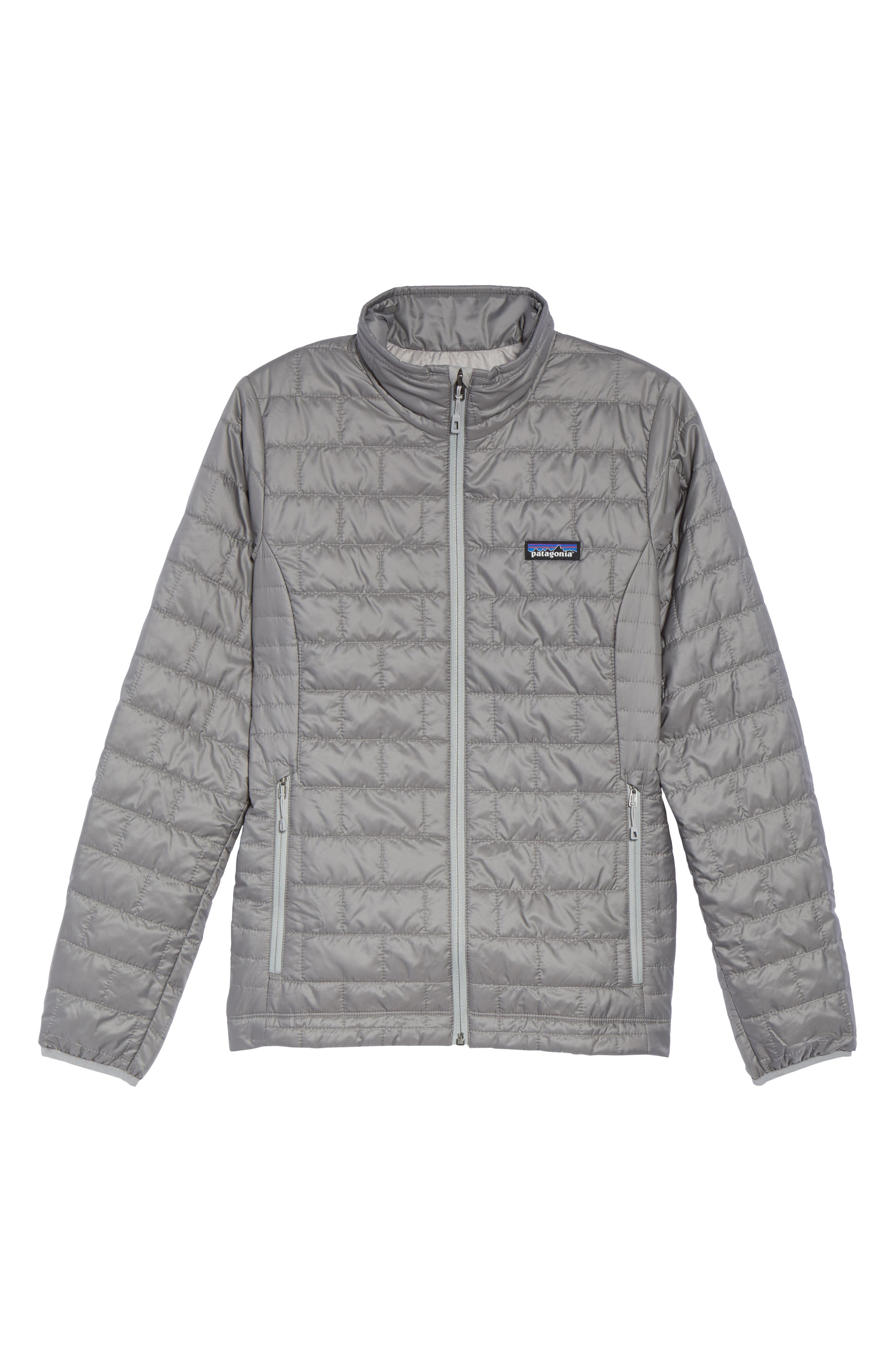 Nano Puff<sup>®</sup> Water Resistant Jacket,                             Alternate thumbnail 6, color,                             FEATHER GREY