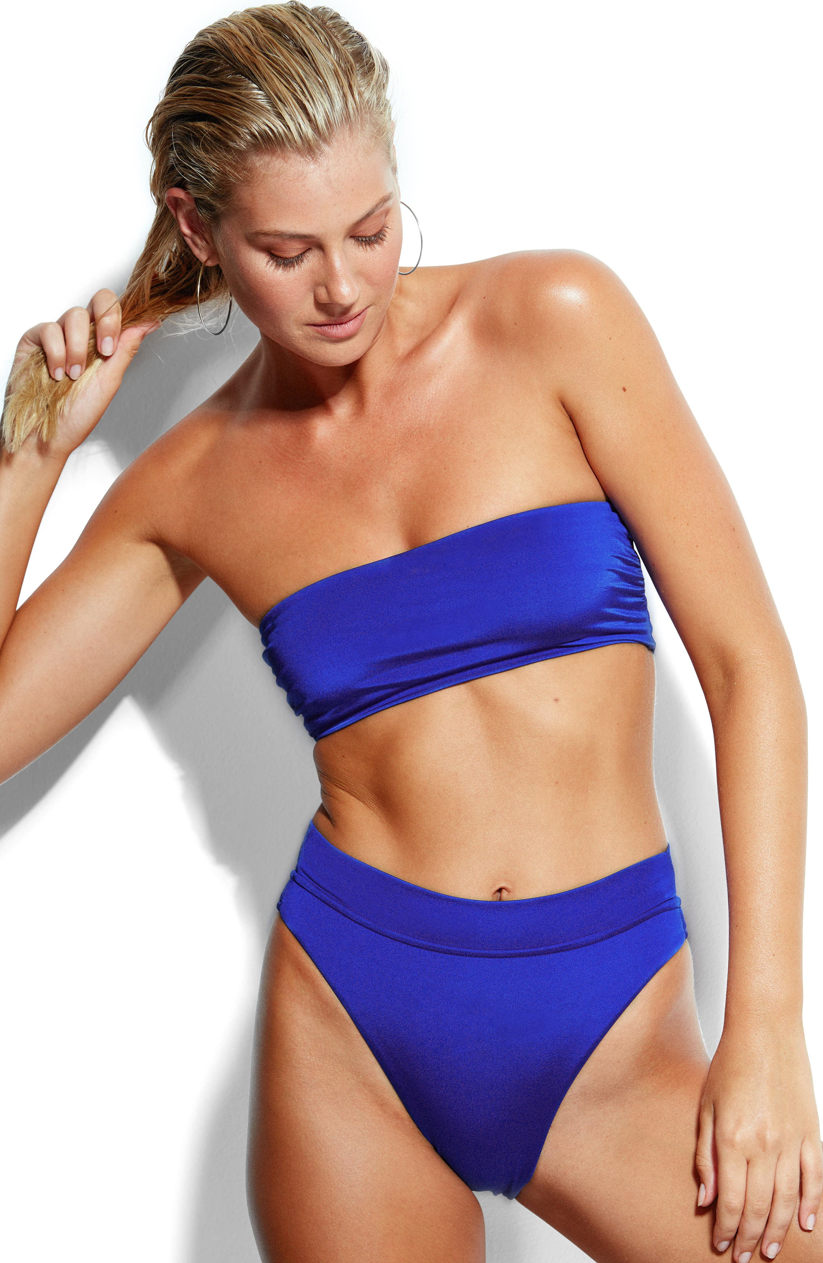 SEAFOLLY,                             Tatum Bandeau Bikini Top,                             Alternate thumbnail 8, color,                             467