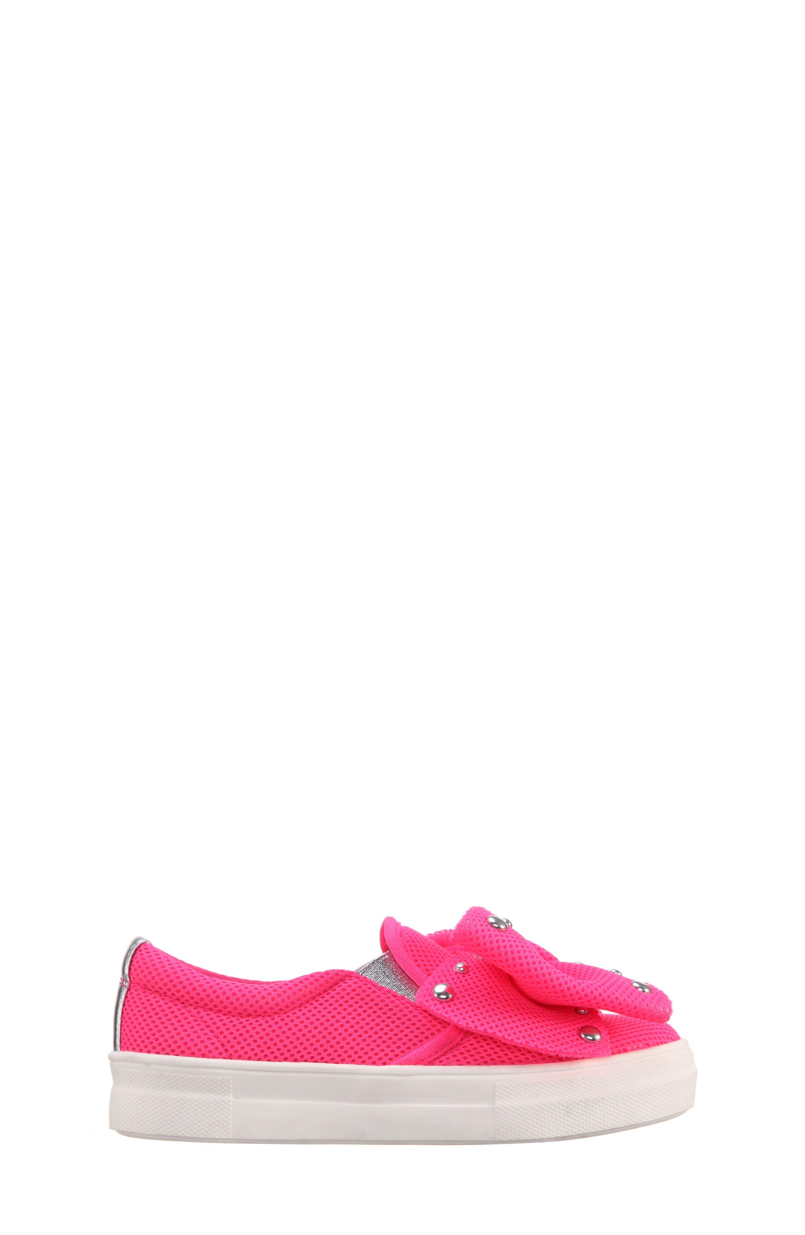 Mary Bow Slip-On Sneaker,                             Alternate thumbnail 8, color,