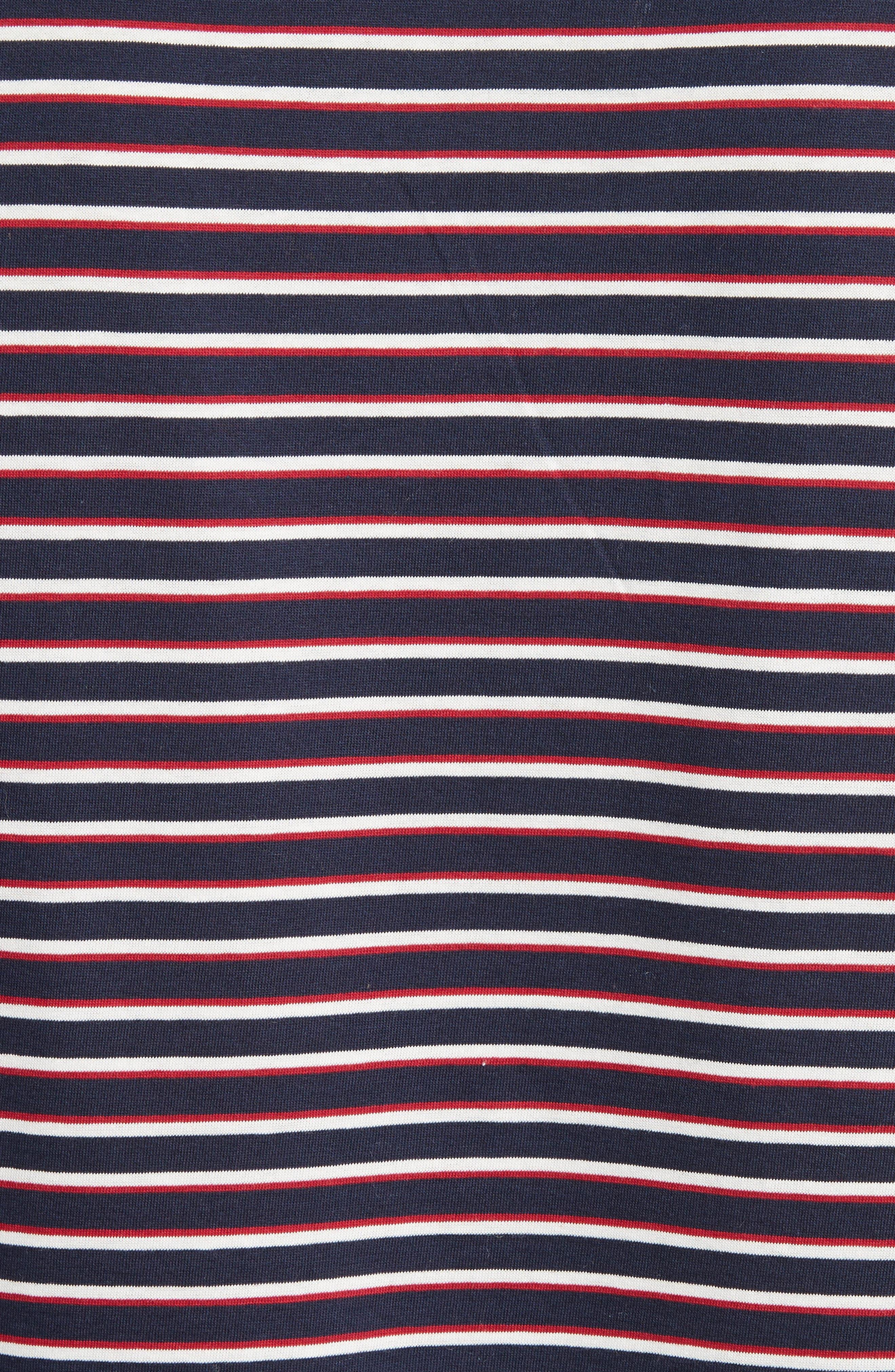 Elliot Stripe T-Shirt,                             Alternate thumbnail 5, color,                             420
