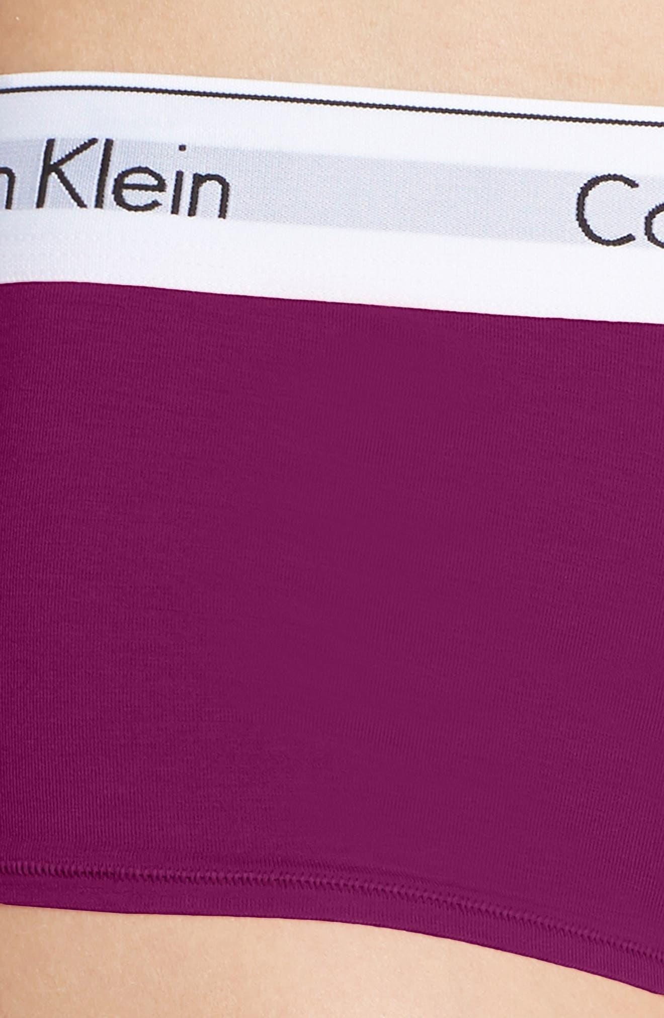 Modern Cotton Collection Boyshorts,                             Alternate thumbnail 119, color,