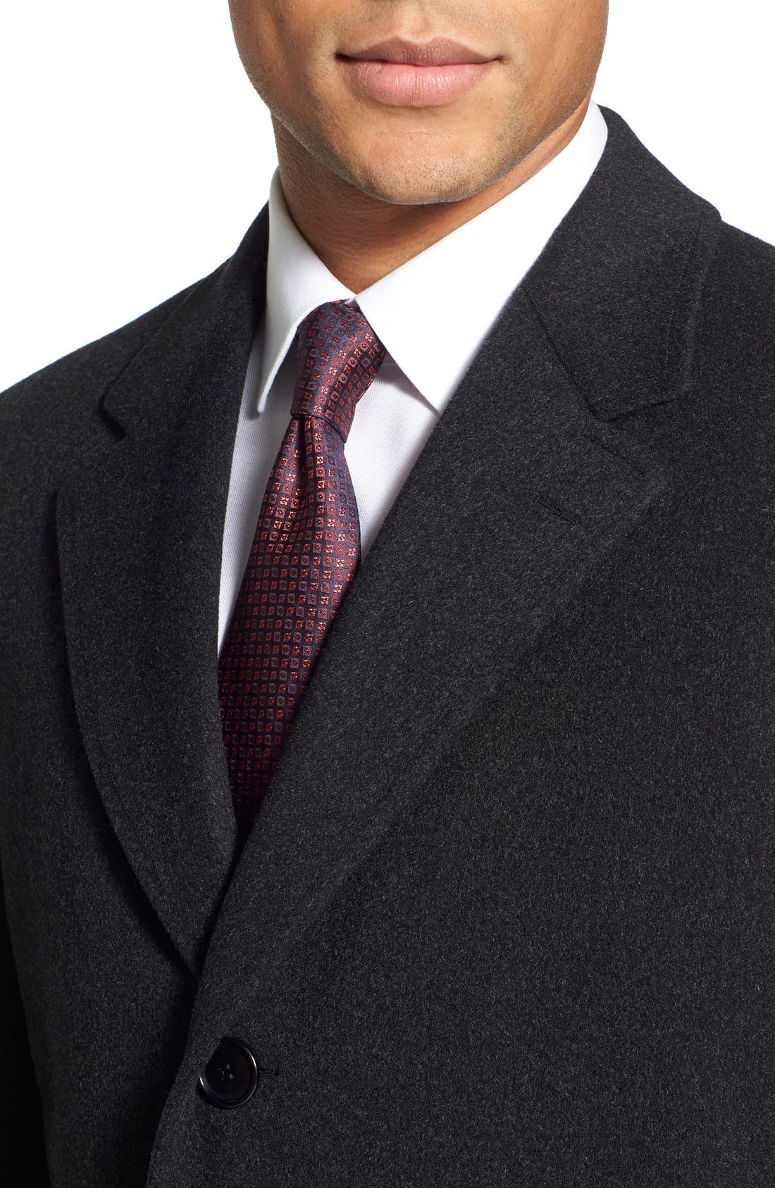 Classic Fit Wool & Cashmere Topcoat,                             Alternate thumbnail 2, color,                             020