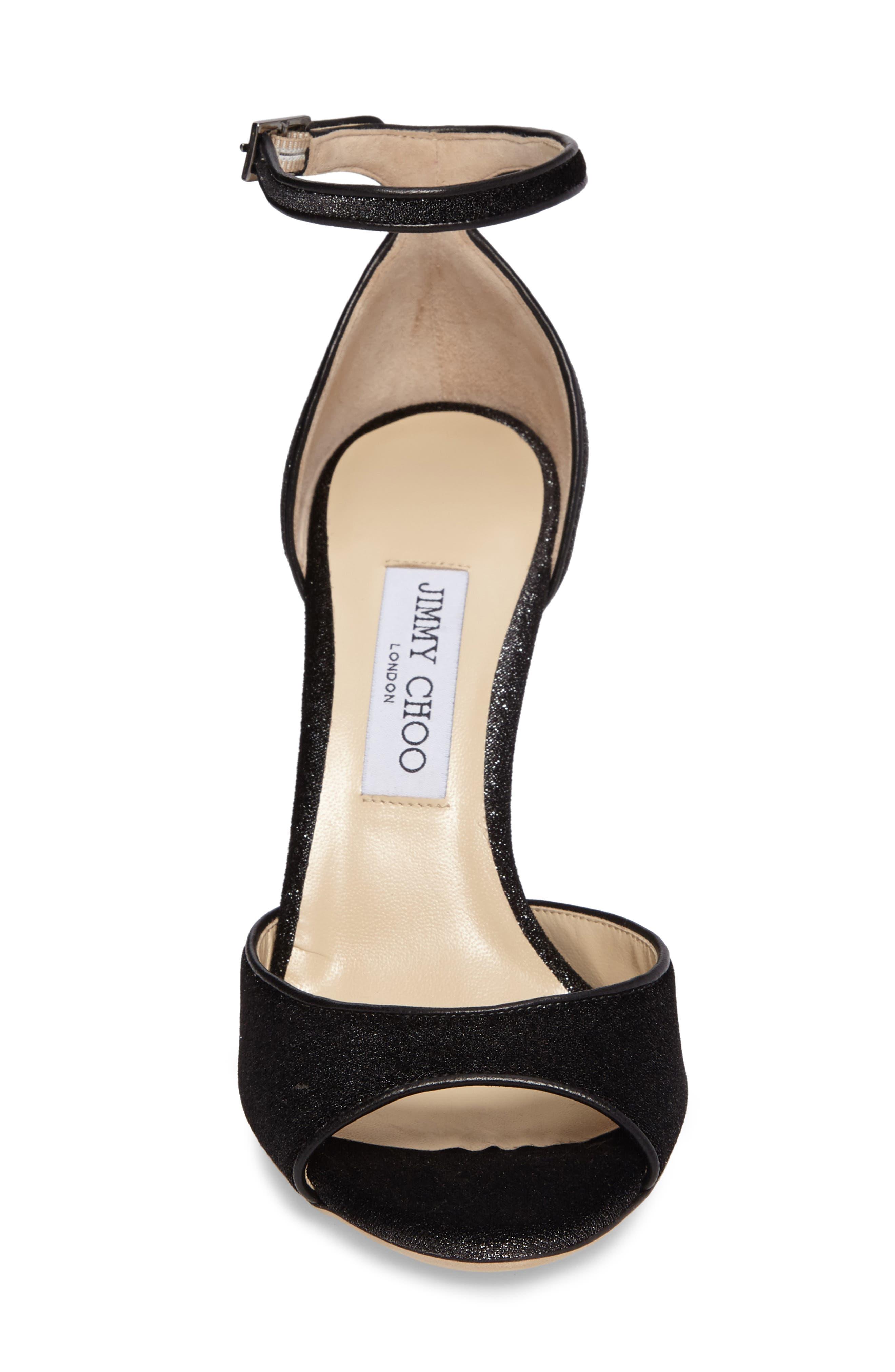 Annie Ankle Strap Sandal,                             Alternate thumbnail 4, color,                             042