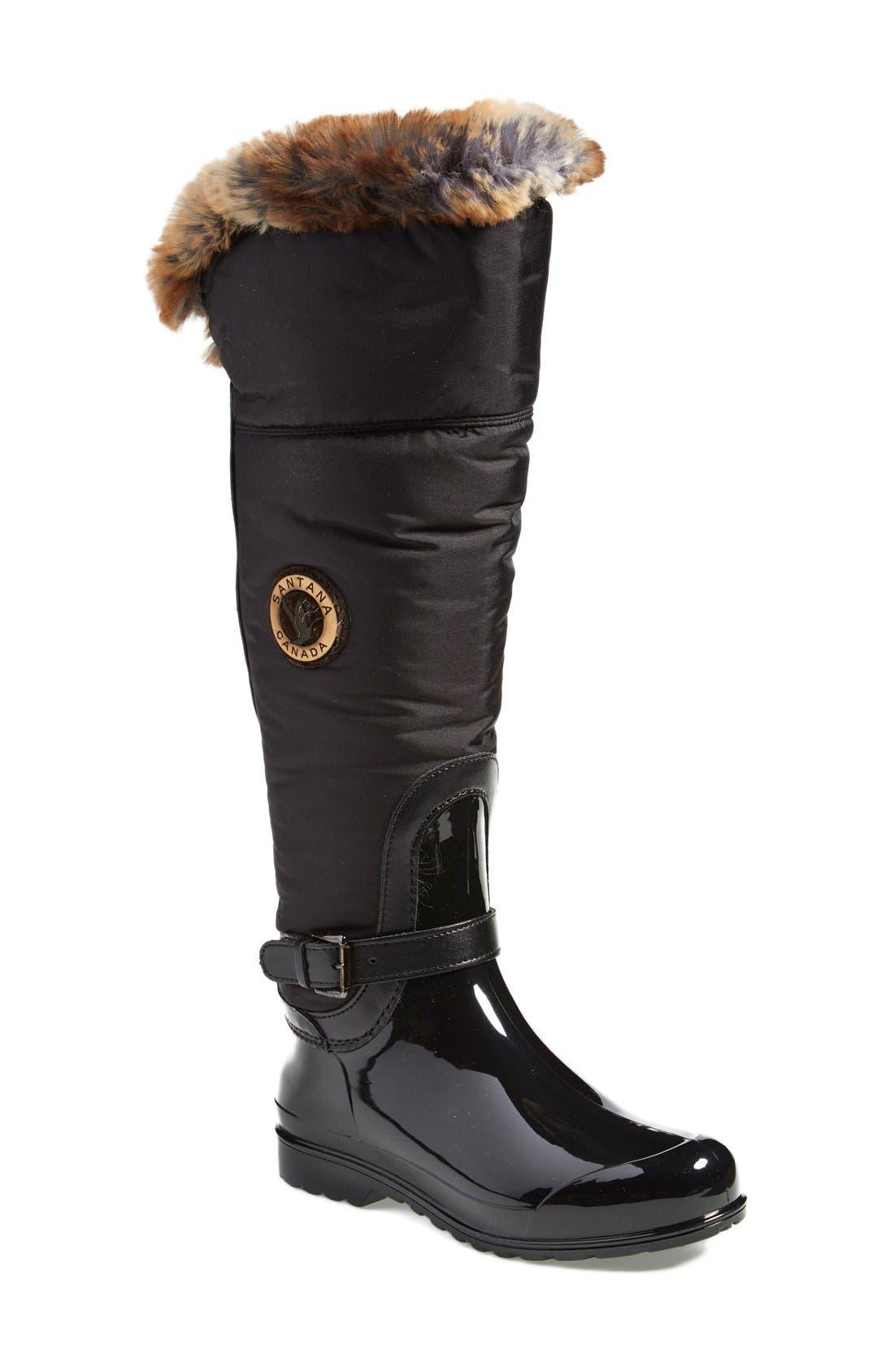 'Clarissa' Waterproof Rain Boot,                             Main thumbnail 2, color,