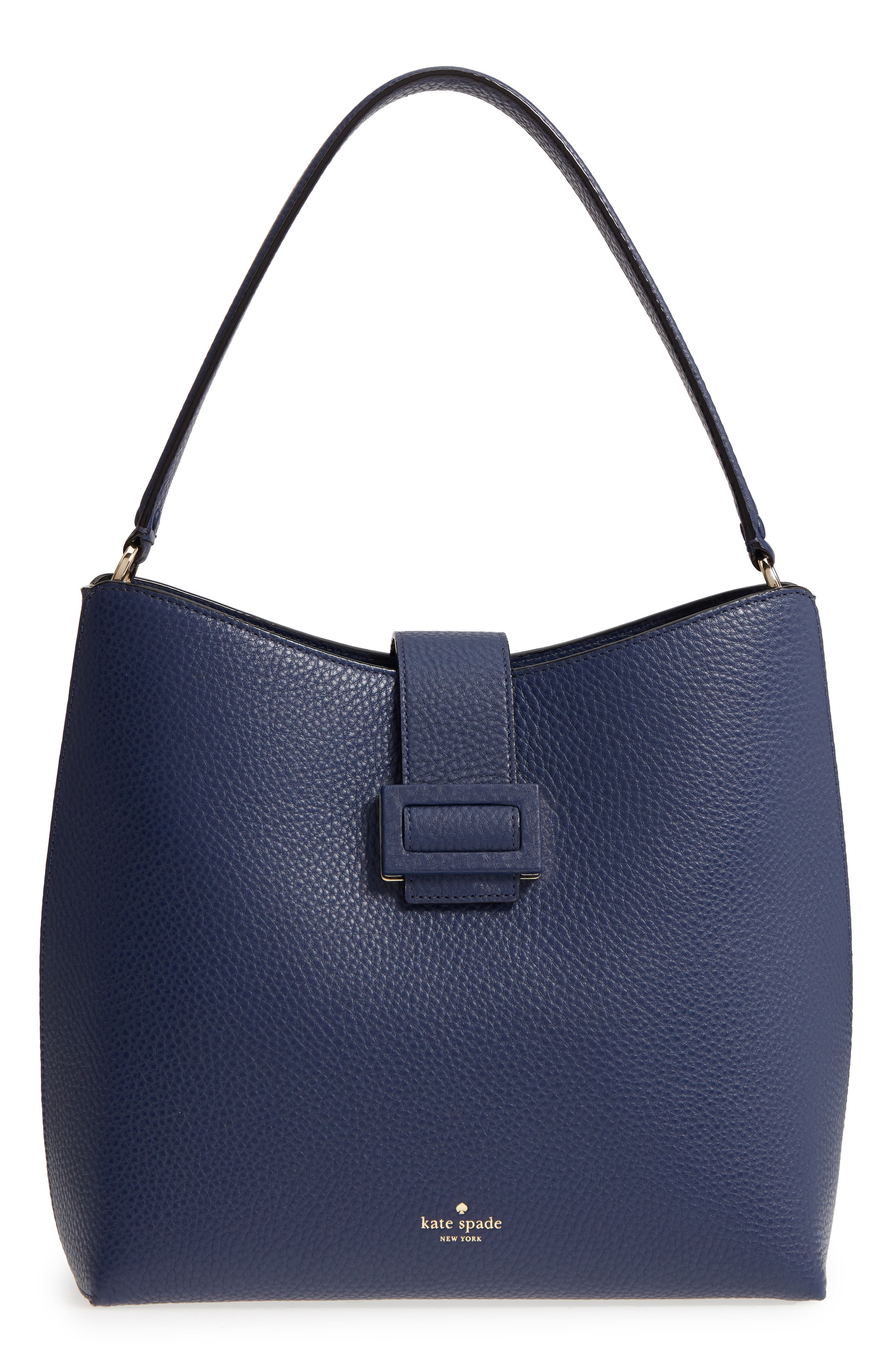 carlyle street – marea leather hobo,                             Main thumbnail 3, color,