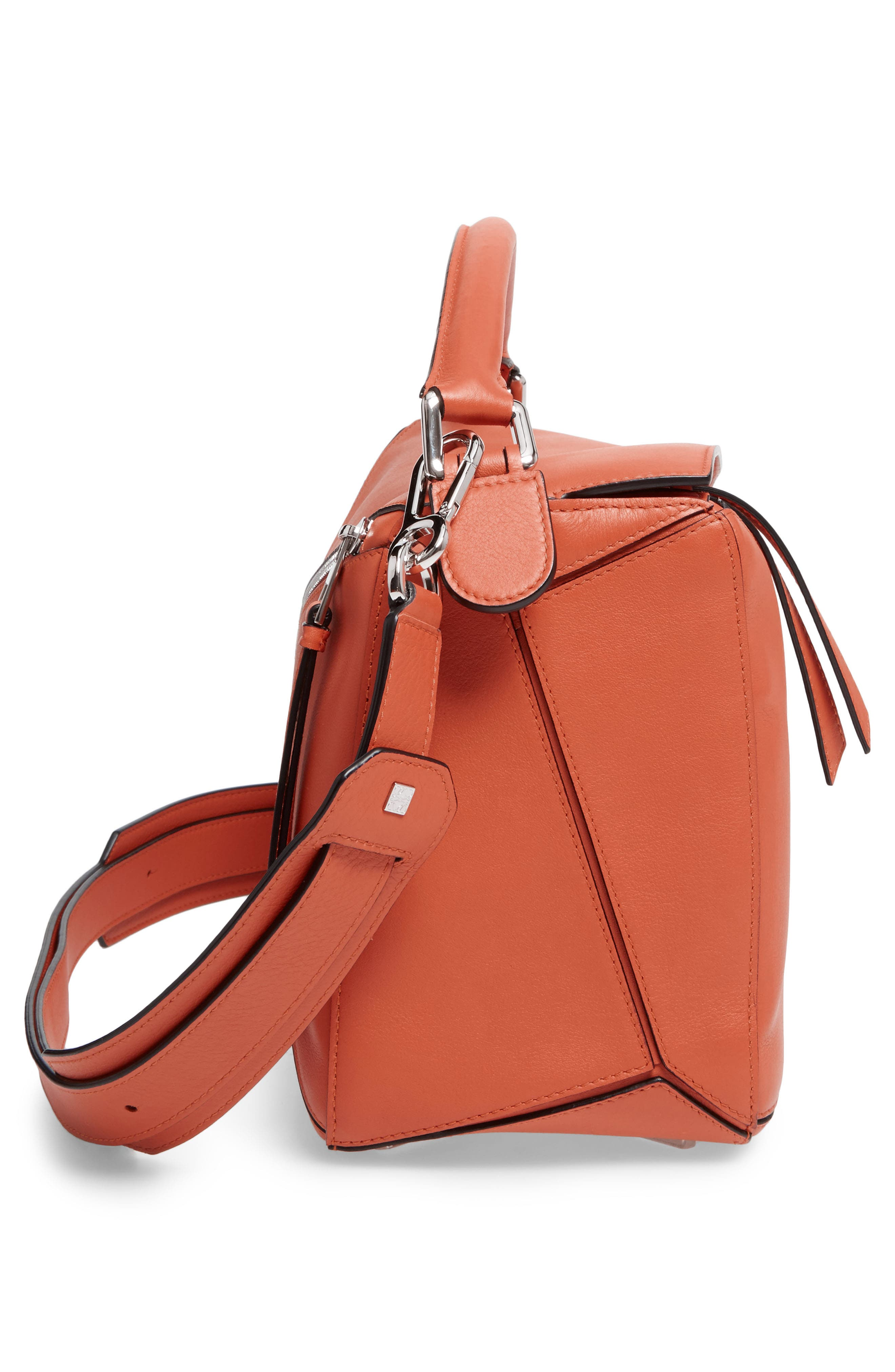 'Small Puzzle' Calfskin Leather Bag,                             Alternate thumbnail 39, color,