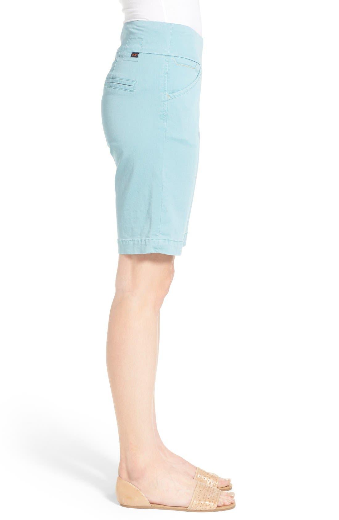'Ainsley' Slim Bermuda Shorts,                             Alternate thumbnail 20, color,