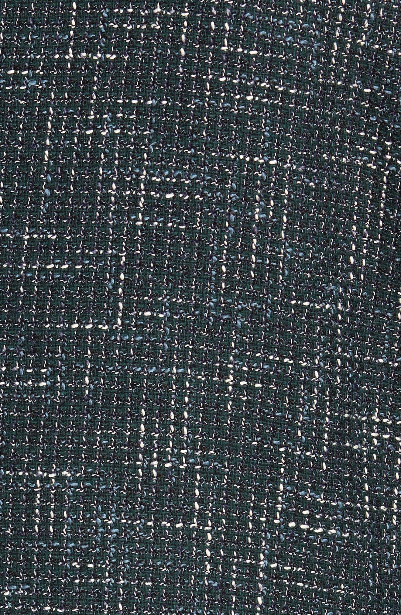 Nold Trim Fit Check Sport Coat,                             Alternate thumbnail 6, color,                             GREEN
