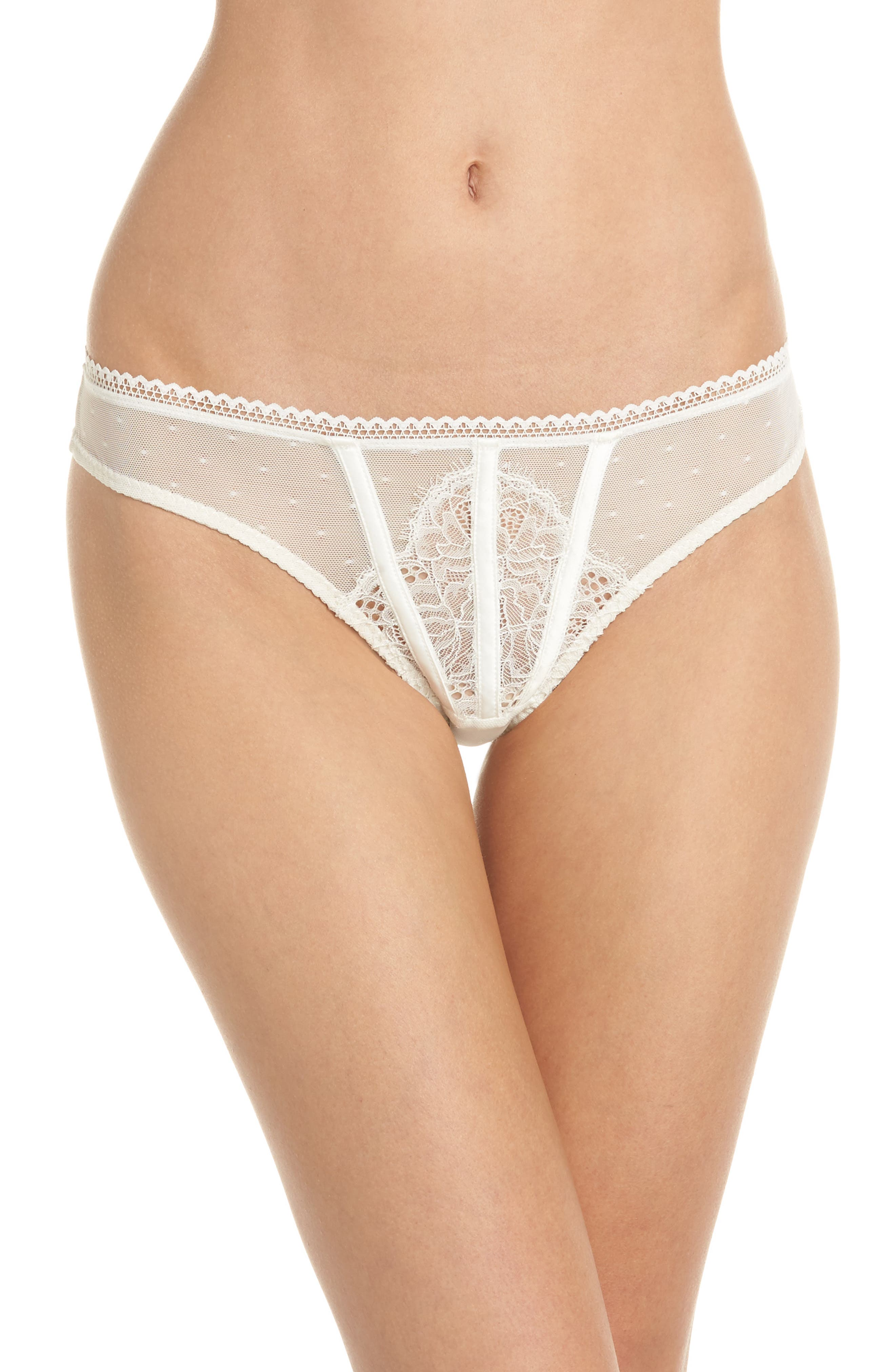 Thistle & Spire All Wrapped Up Thong,                             Main thumbnail 3, color,