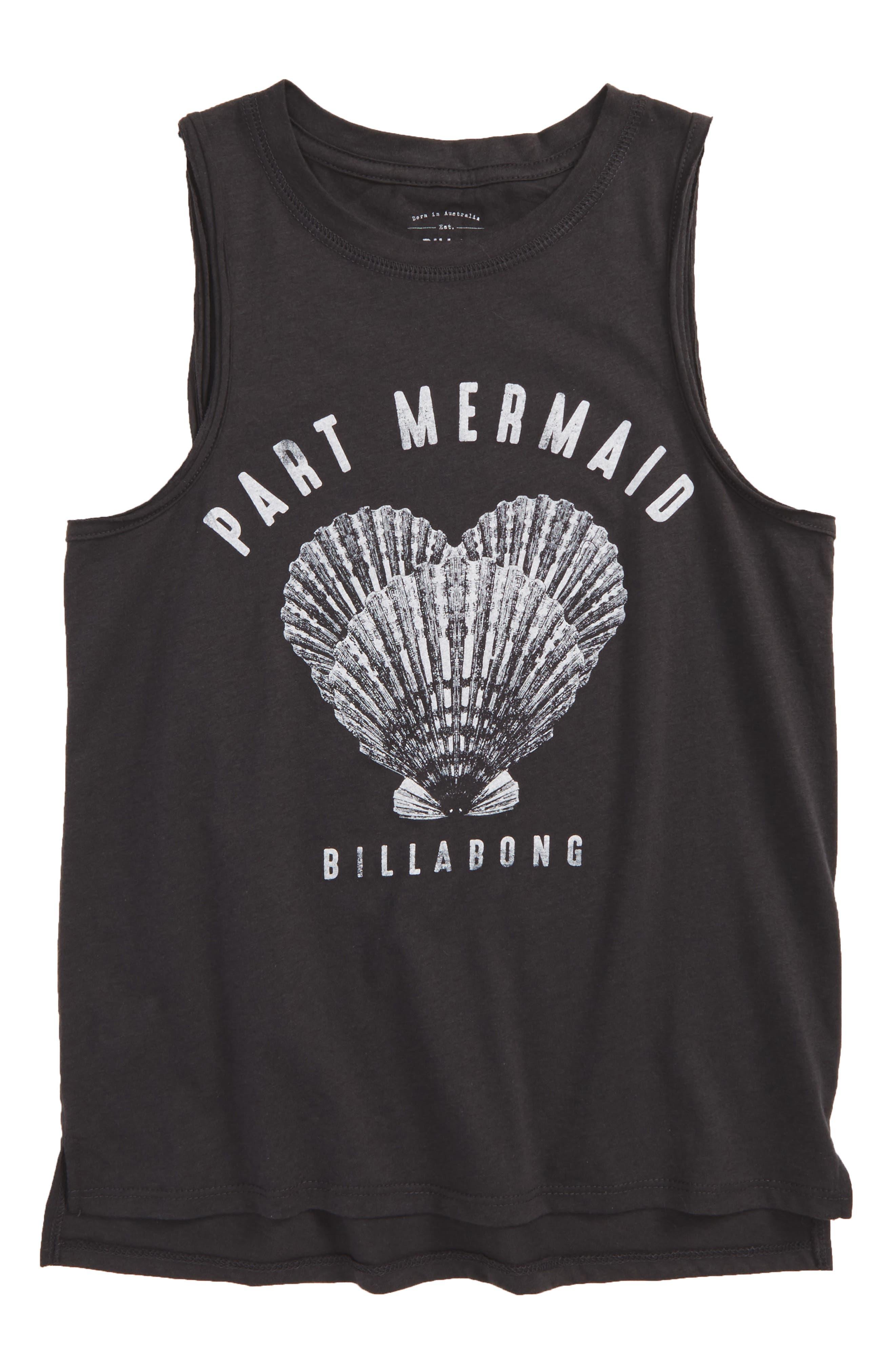 Part Mermaid Graphic Tank,                         Main,                         color,