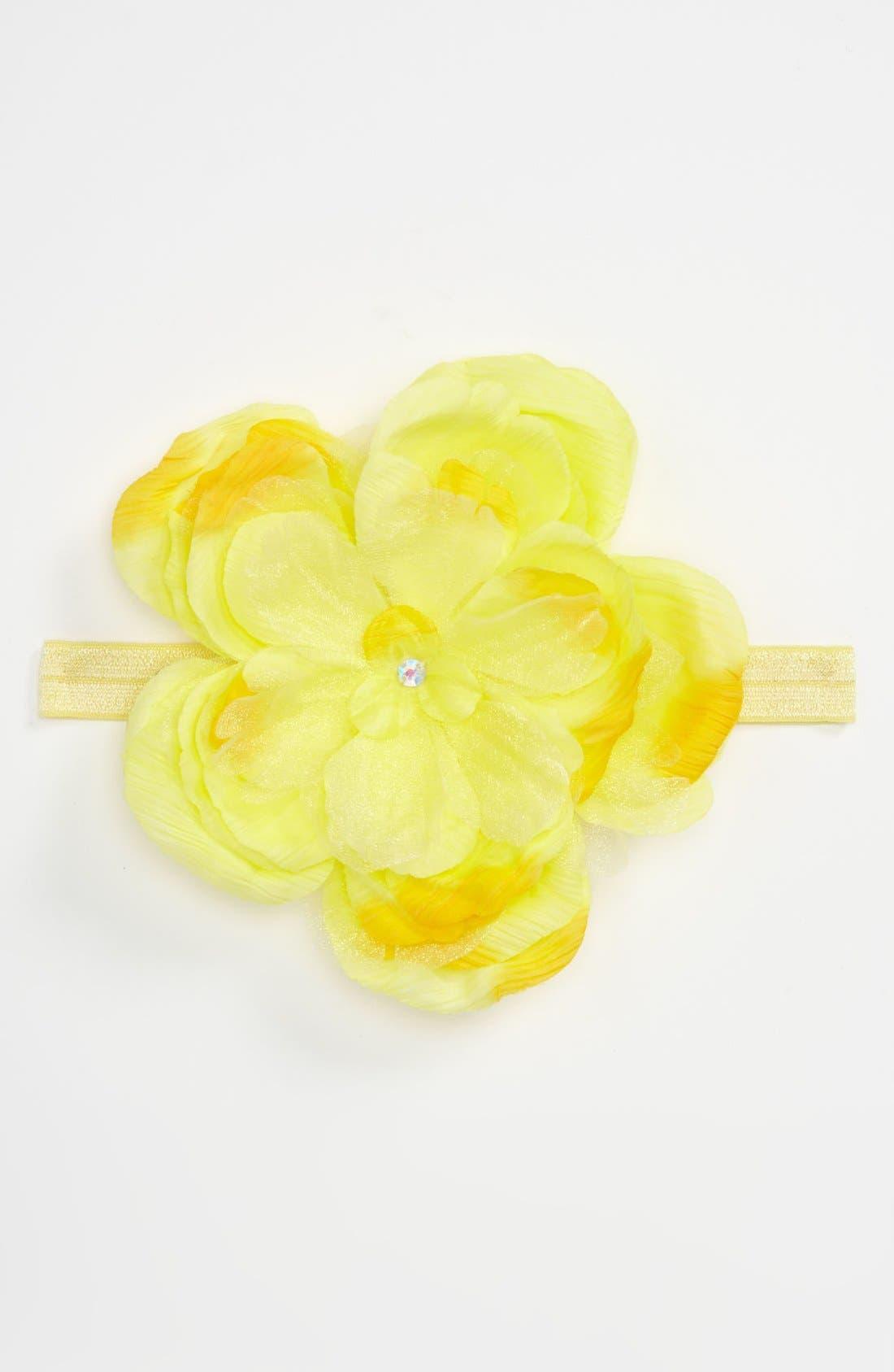 Flower Headband,                             Main thumbnail 5, color,