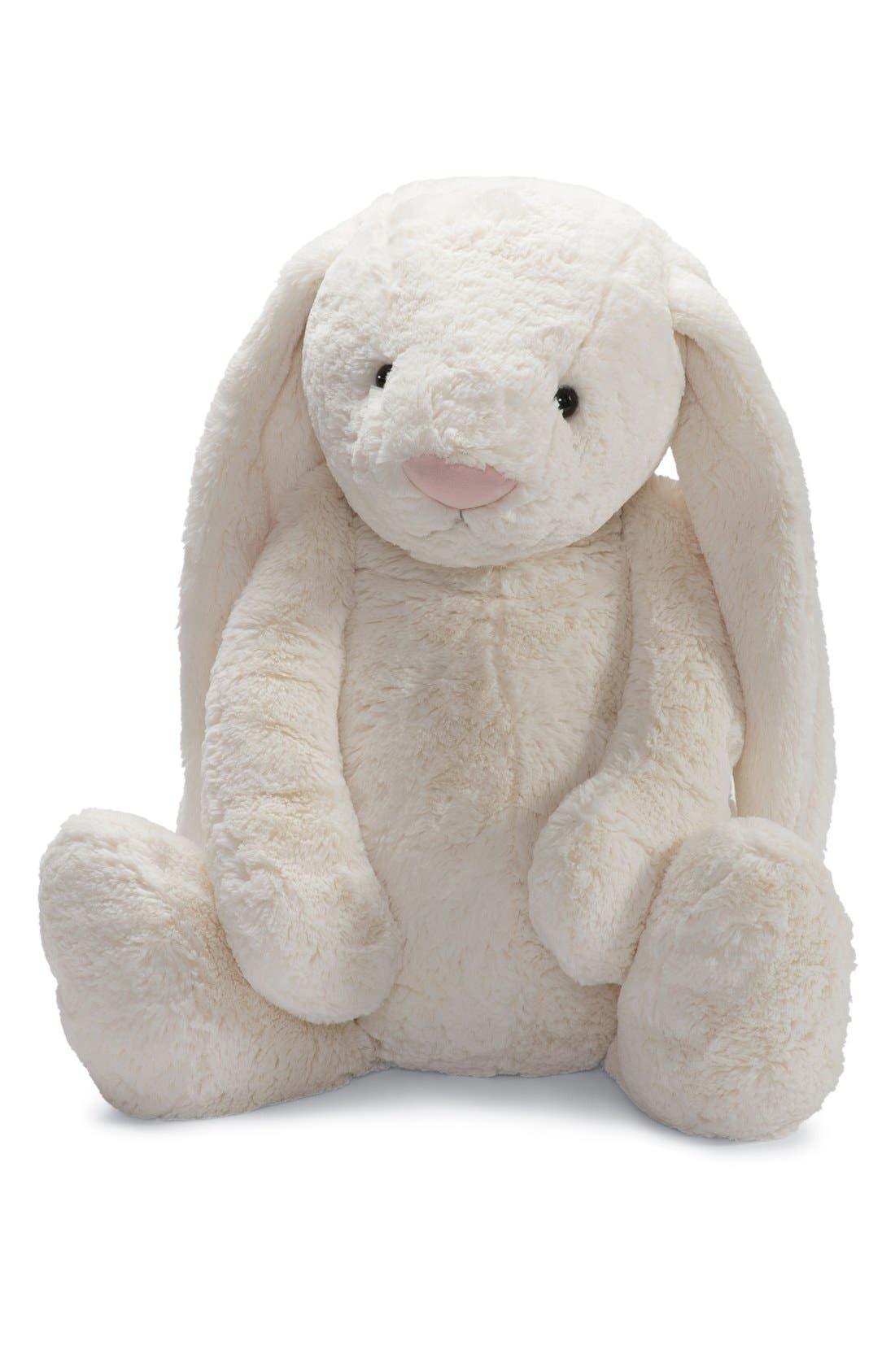 'Large Bashful Bunny' Stuffed Animal,                             Alternate thumbnail 3, color,                             250