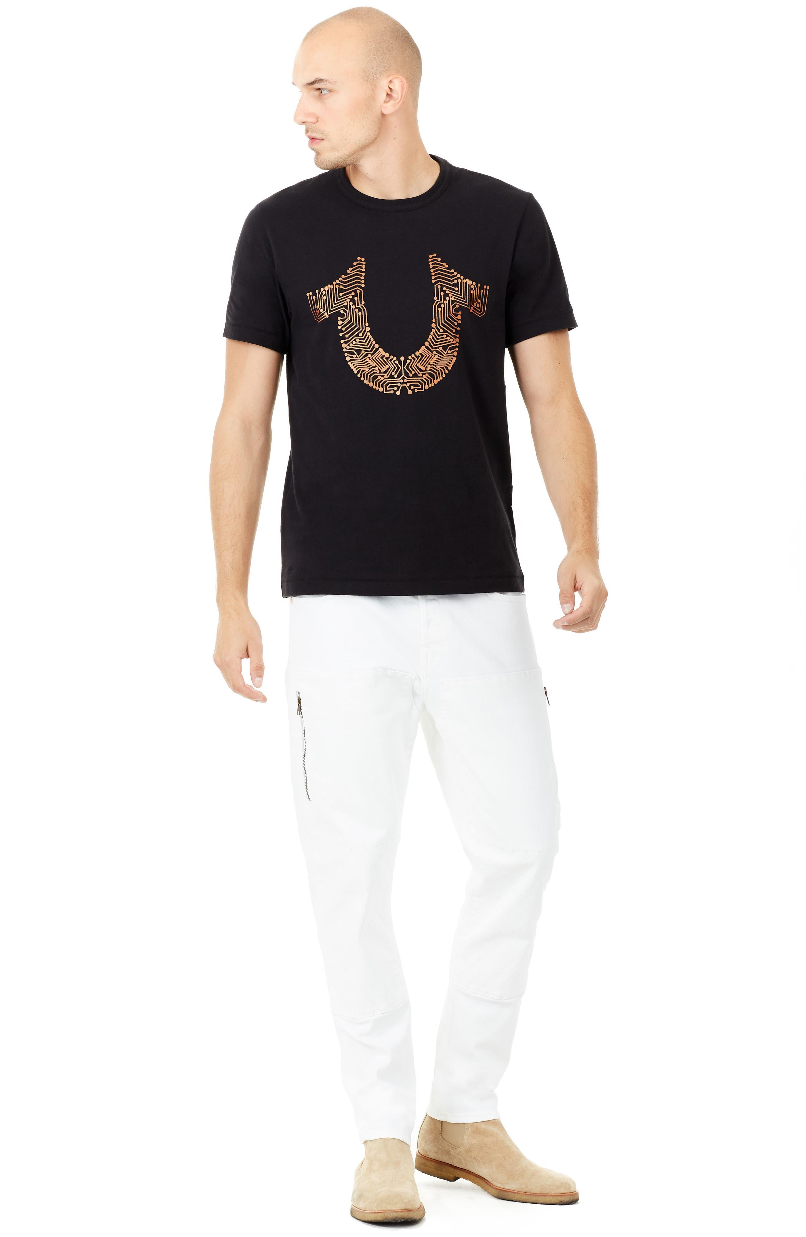 Circuit T-Shirt,                             Alternate thumbnail 3, color,                             001