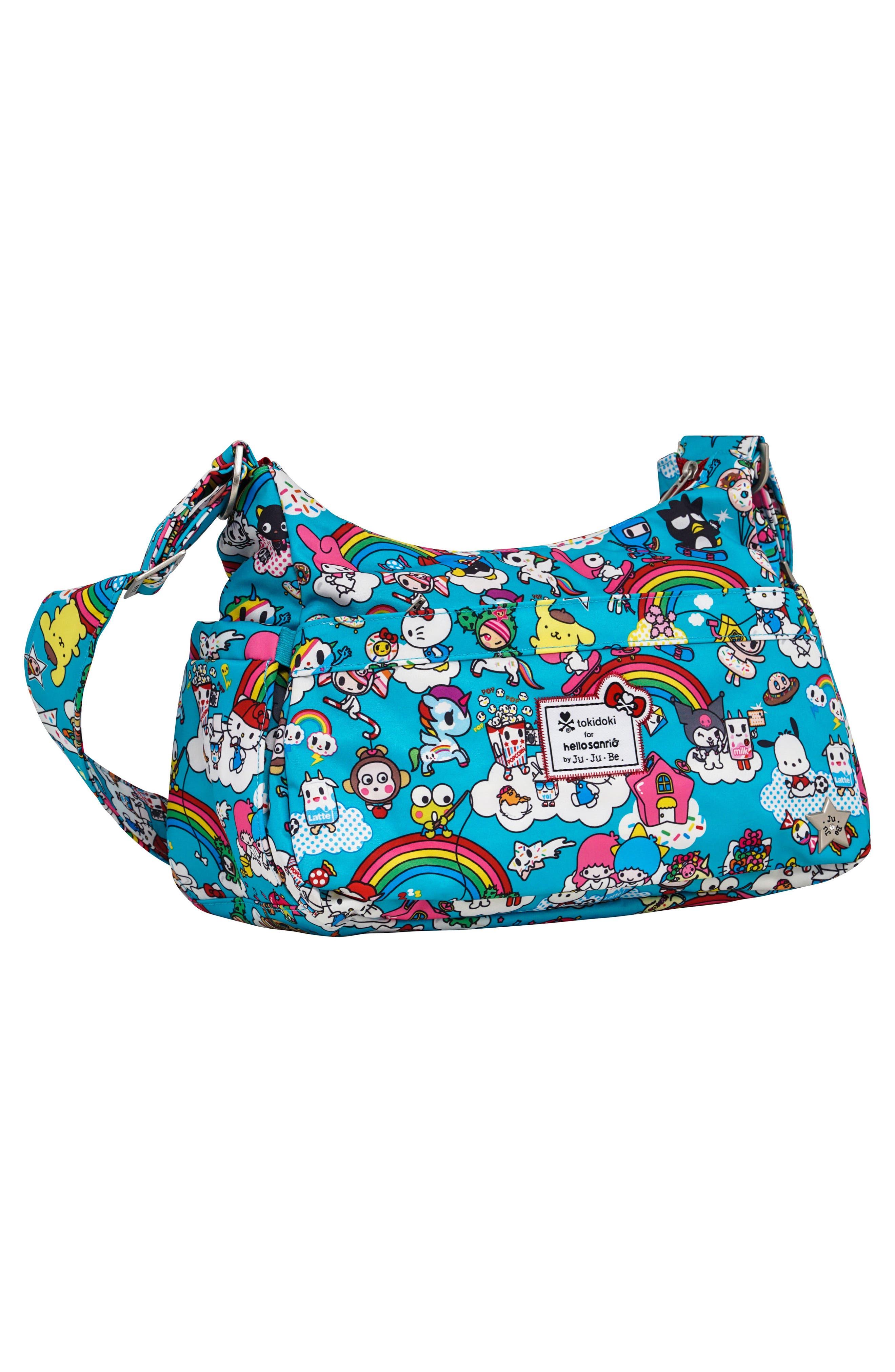 x tokidoki for Hello Sanrio Rainbow Dreams Be Hobo Diaper Bag,                             Alternate thumbnail 3, color,                             433
