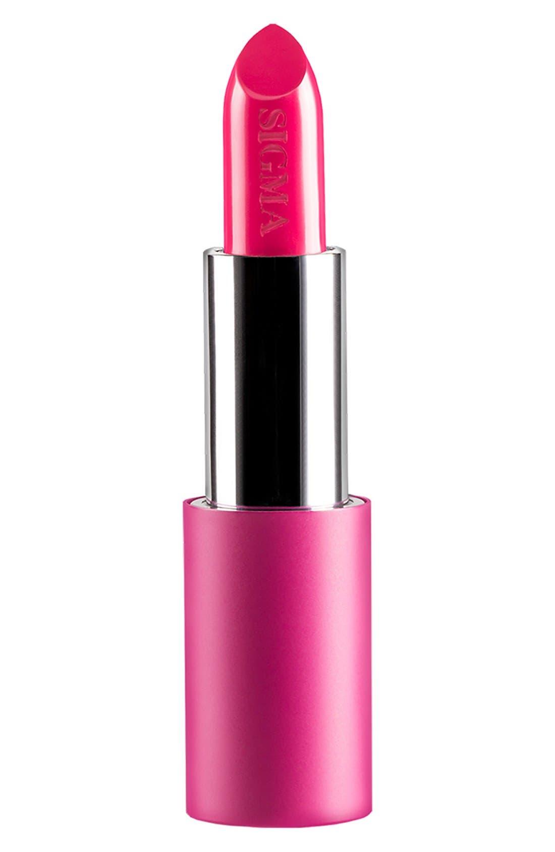 Sigma Beauty Pink - Power Stick Lipstick,                             Main thumbnail 1, color,                             SIGMA PINK