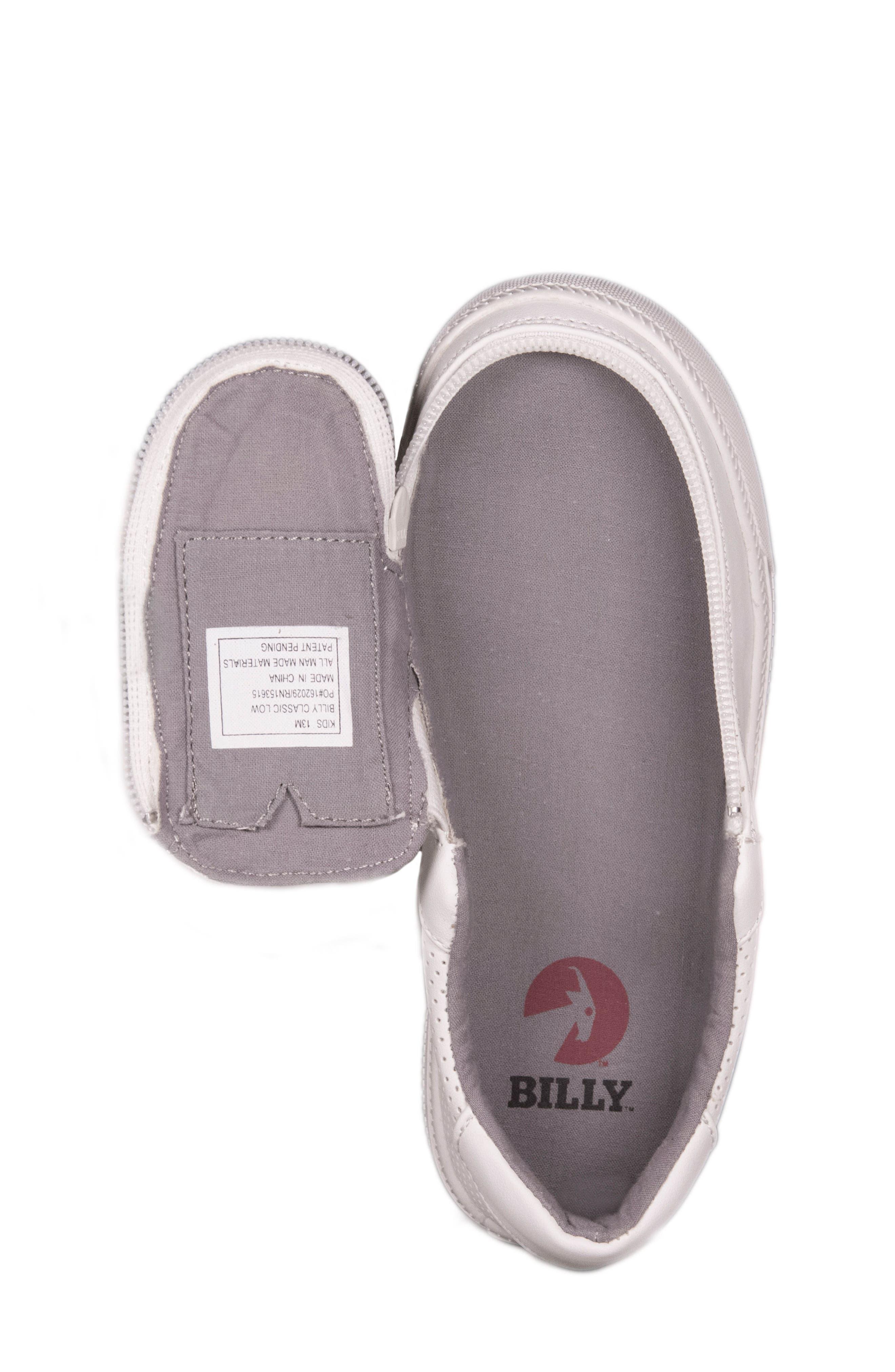 Zip Around Perforated Low Top Sneaker,                             Alternate thumbnail 12, color,