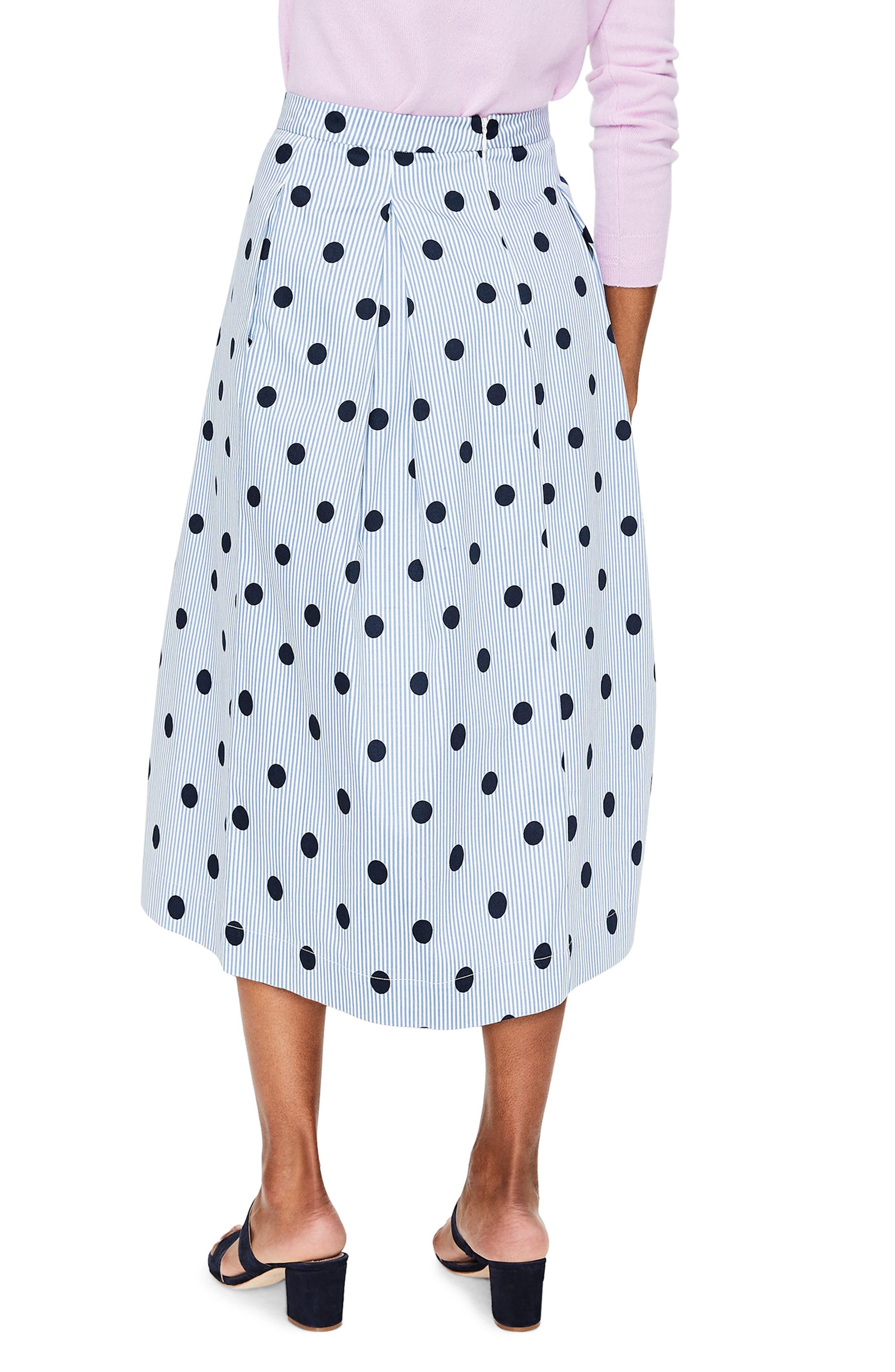 Lola Floral Flared Skirt,                             Alternate thumbnail 9, color,