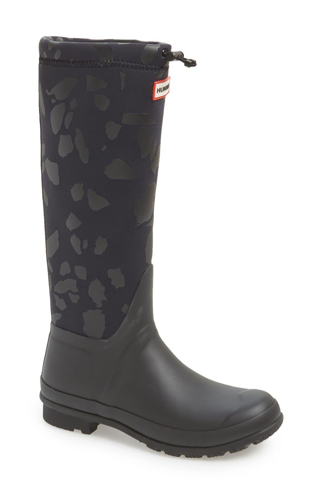 HUNTER 'Original TeazzoTour' WaterproofRain Boot, Main, color, 019