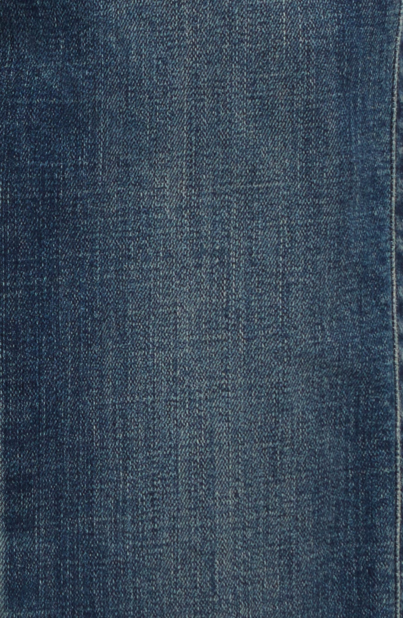 Straight Leg Jeans,                             Alternate thumbnail 3, color,                             401