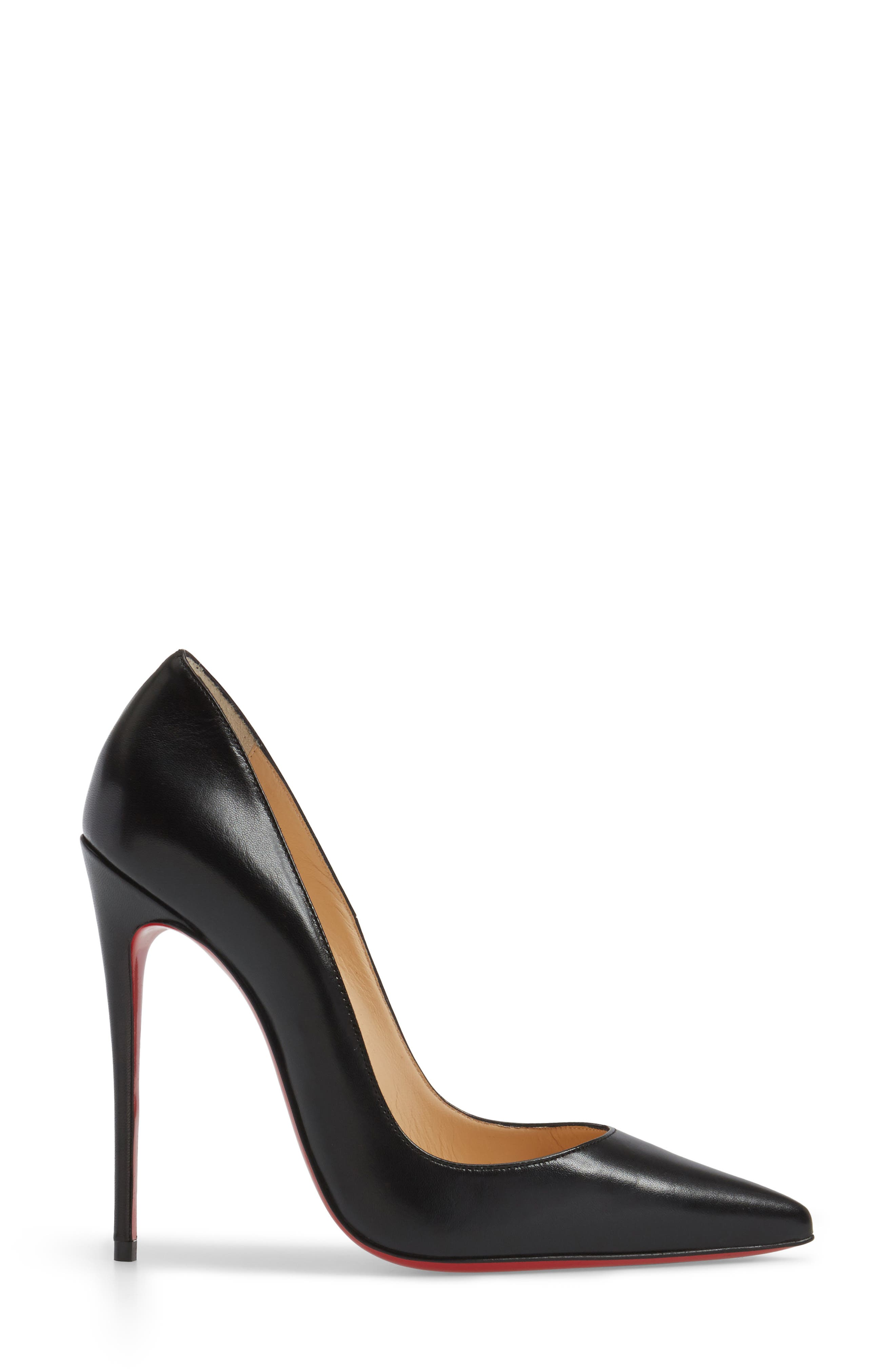 CHRISTIAN LOUBOUTIN,                             So Kate Pointy Toe Pump,                             Alternate thumbnail 3, color,                             001