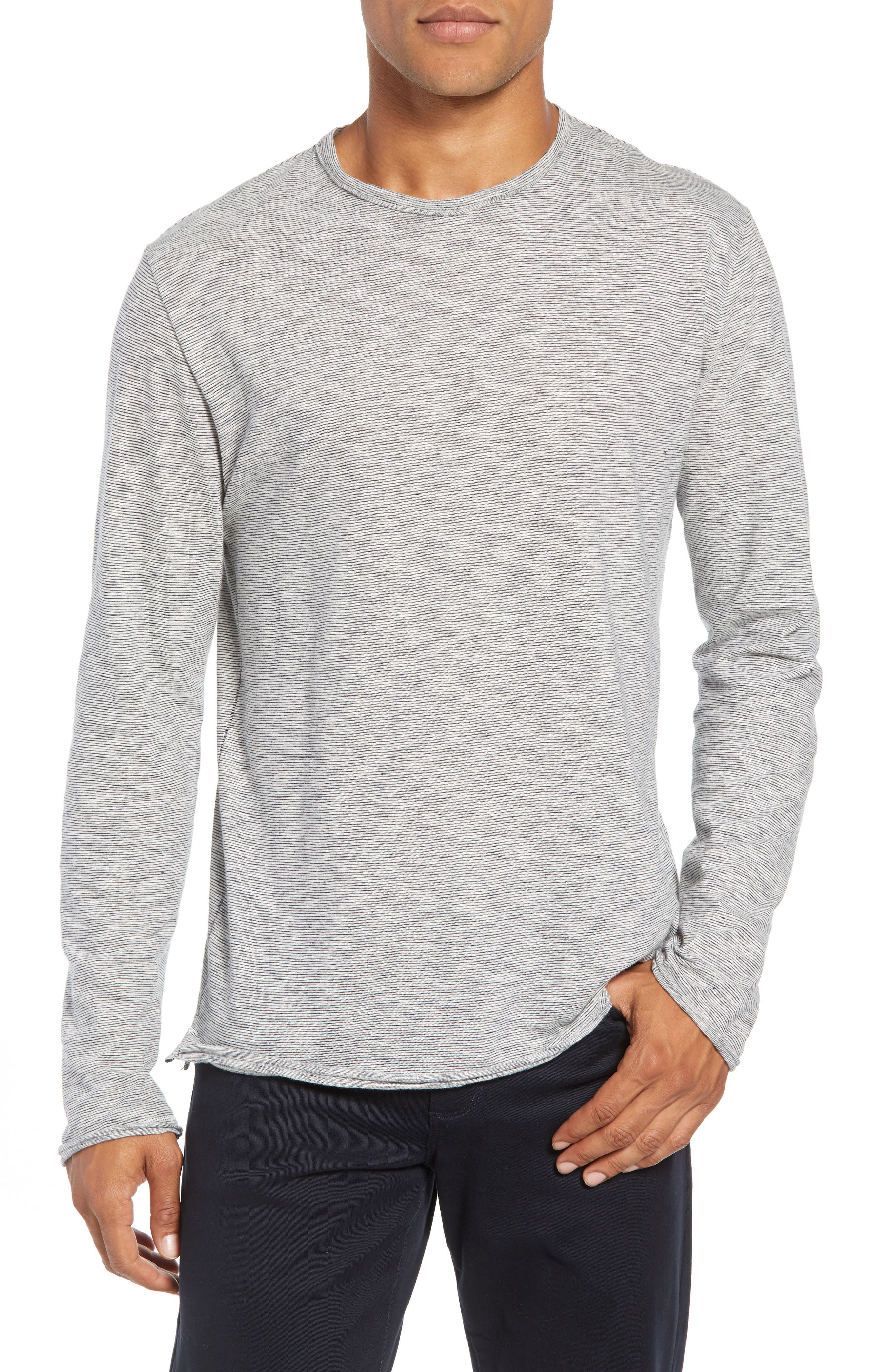 Owen T-Shirt,                             Main thumbnail 1, color,                             NAVY/ WHITE