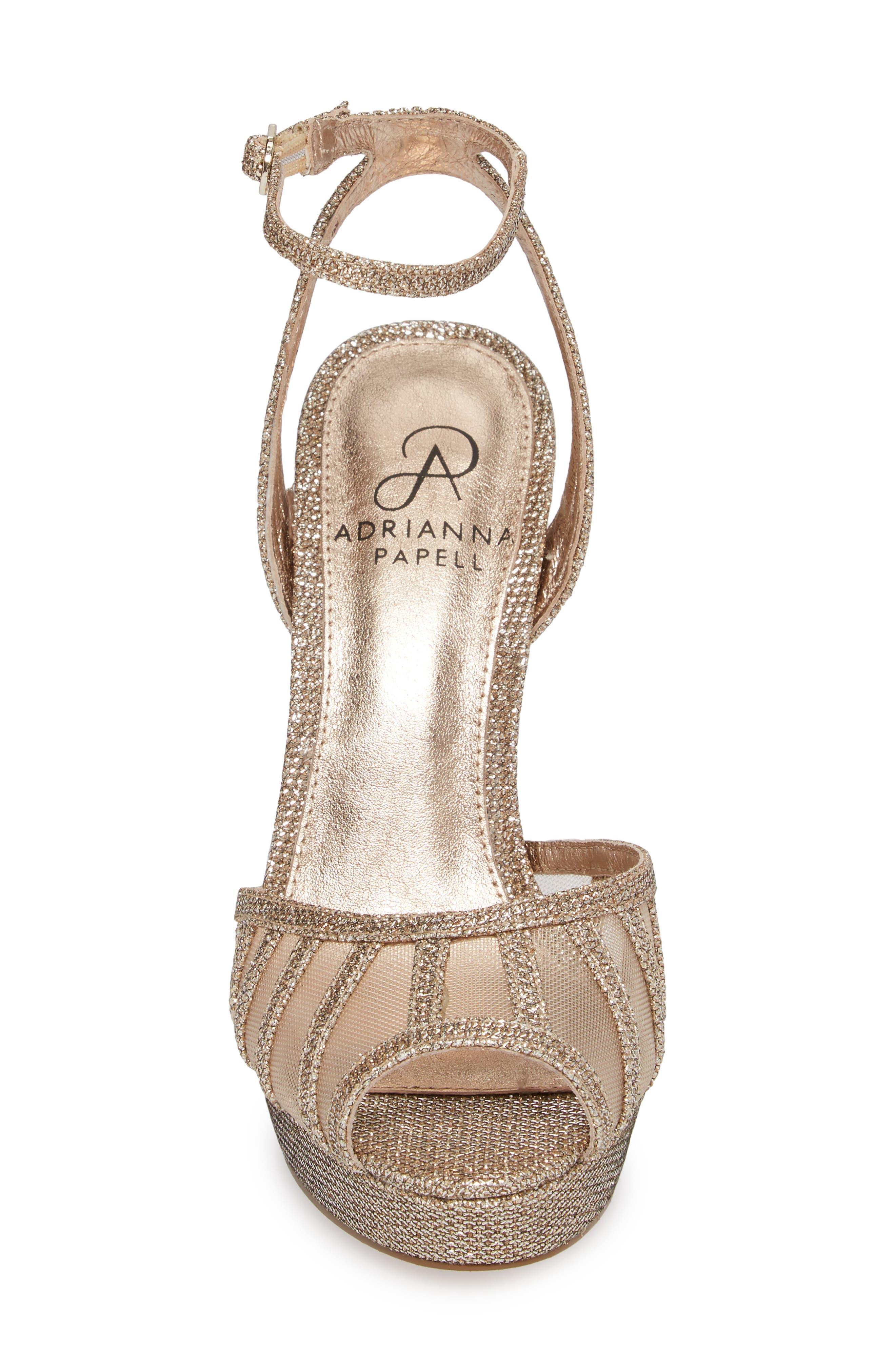 Saida Platform Sandal,                             Alternate thumbnail 4, color,                             040