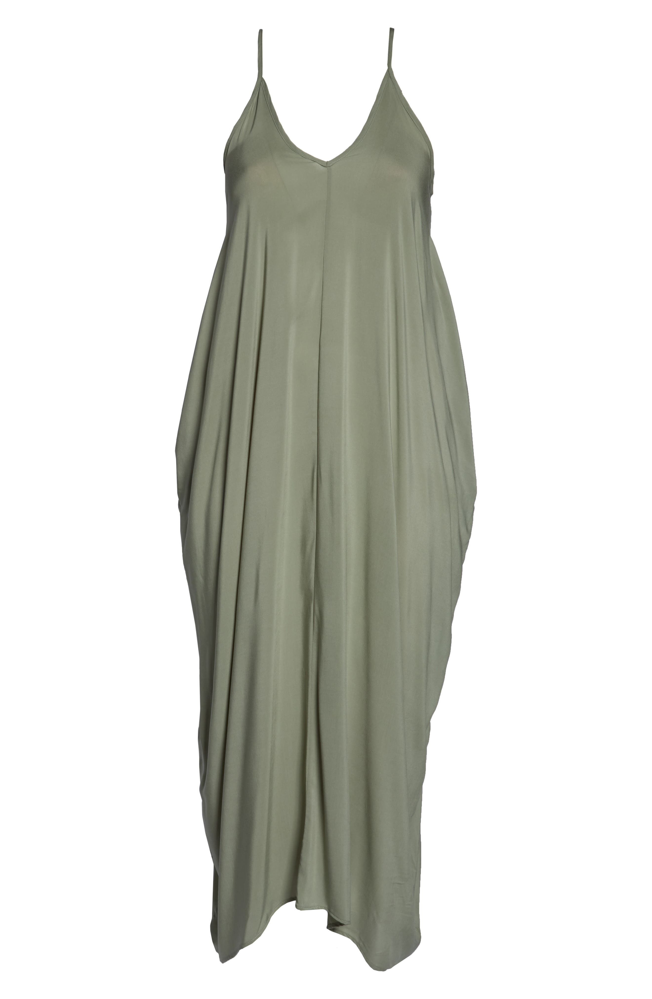 Cover-Up Maxi Dress,                             Alternate thumbnail 6, color,                             340