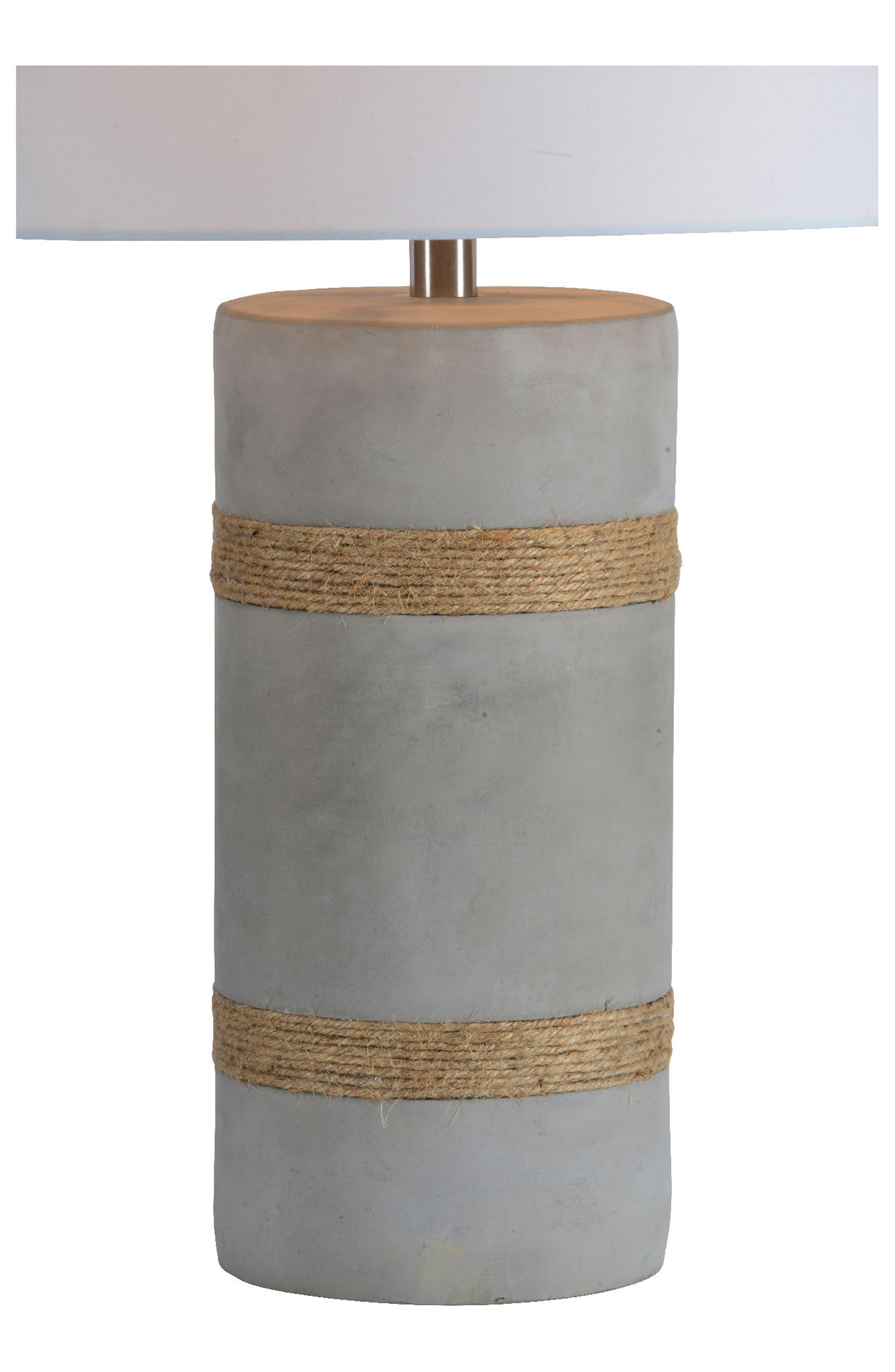 Malden Table Lamp,                             Alternate thumbnail 2, color,                             ROPE DETAIL