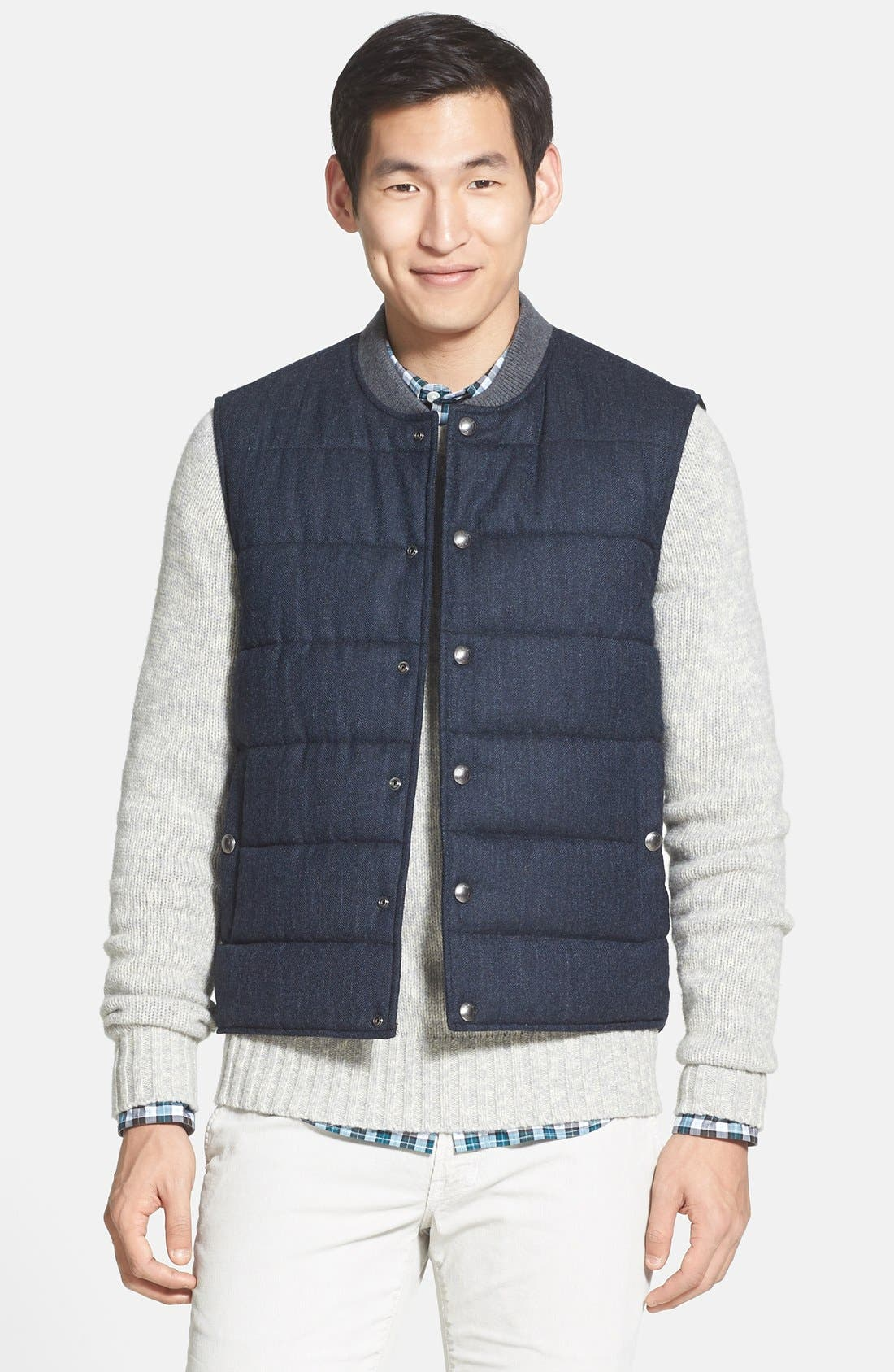 Quilted Vest,                             Main thumbnail 1, color,                             409
