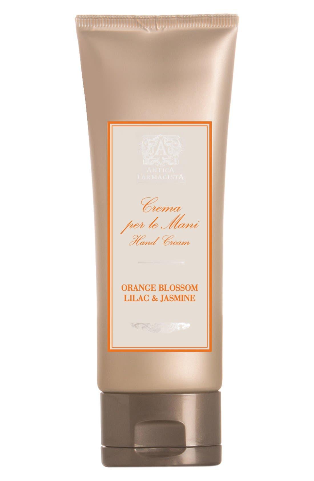 'Orange Blossom' Hand Cream,                             Main thumbnail 1, color,                             000