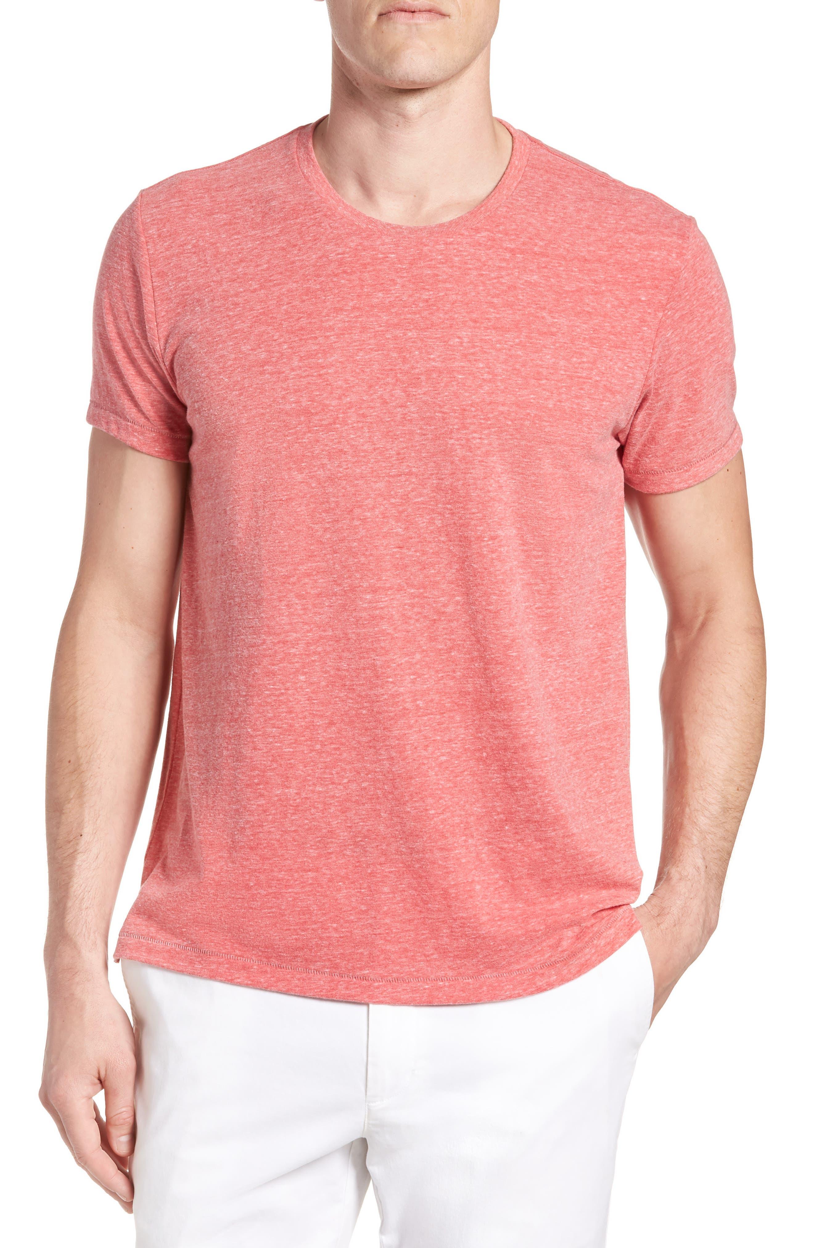 LA Slim Fit Heathered T-Shirt,                             Main thumbnail 3, color,
