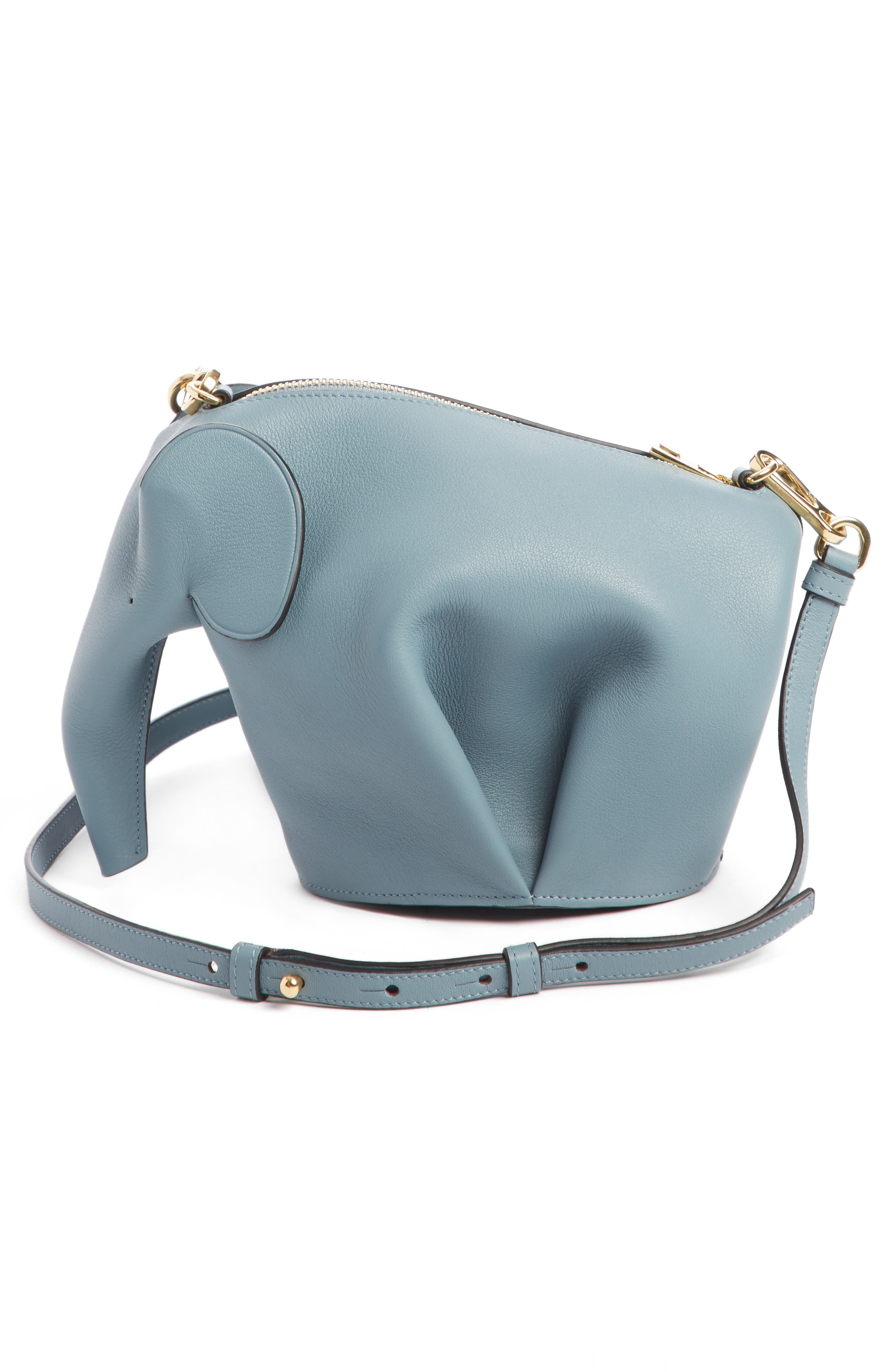 'Mini Elephant' Crossbody Bag,                             Alternate thumbnail 22, color,