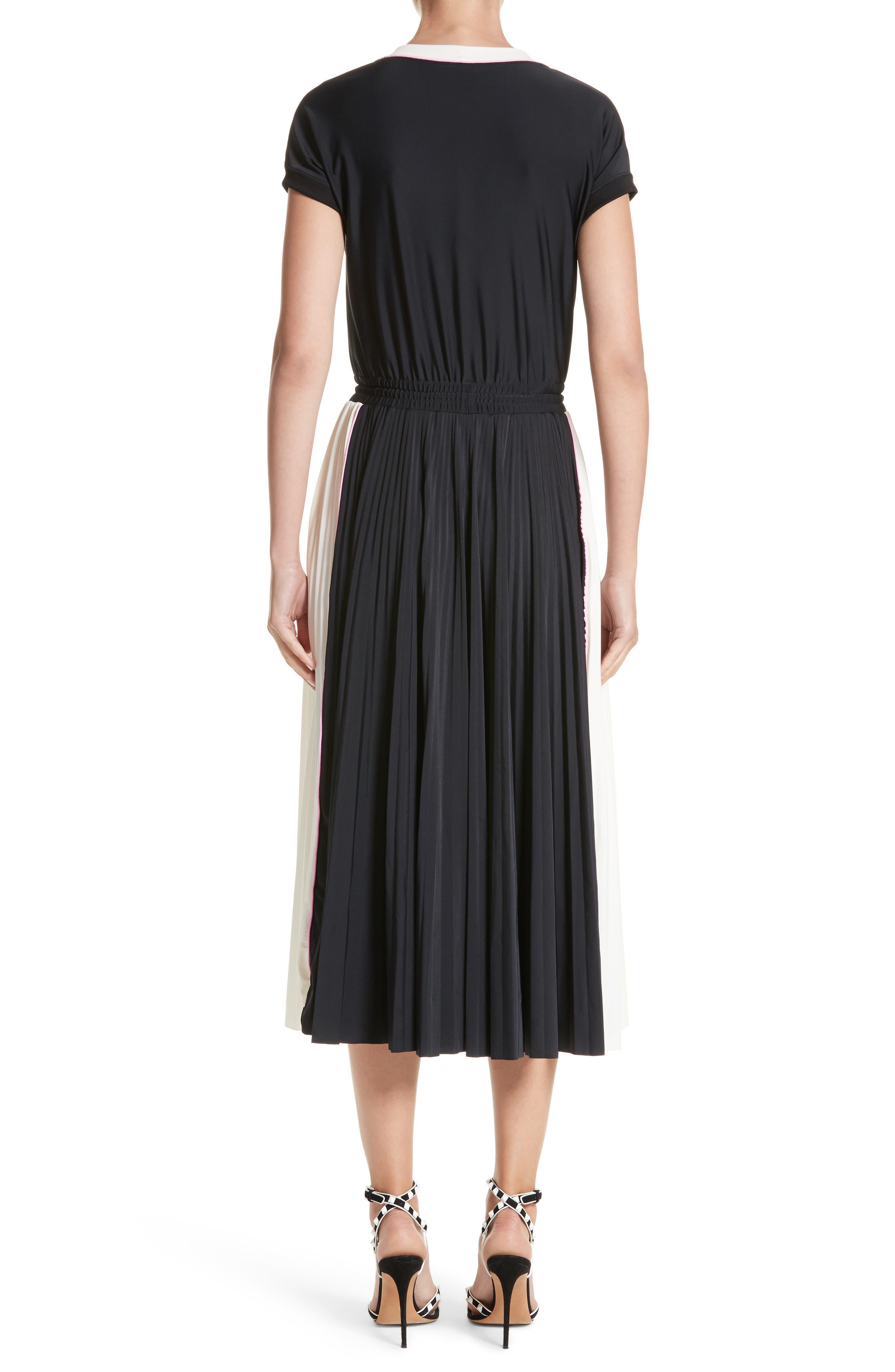 Sport Jersey Midi Dress,                             Alternate thumbnail 2, color,