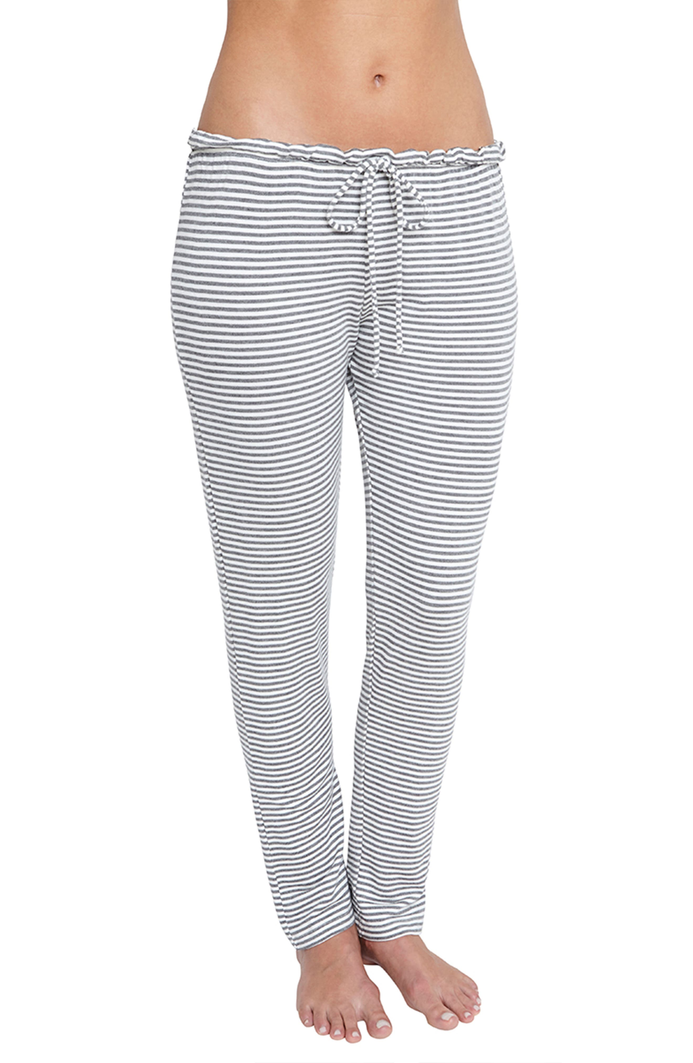 Sadie Stripes Pajama Pants,                             Main thumbnail 1, color,                             030