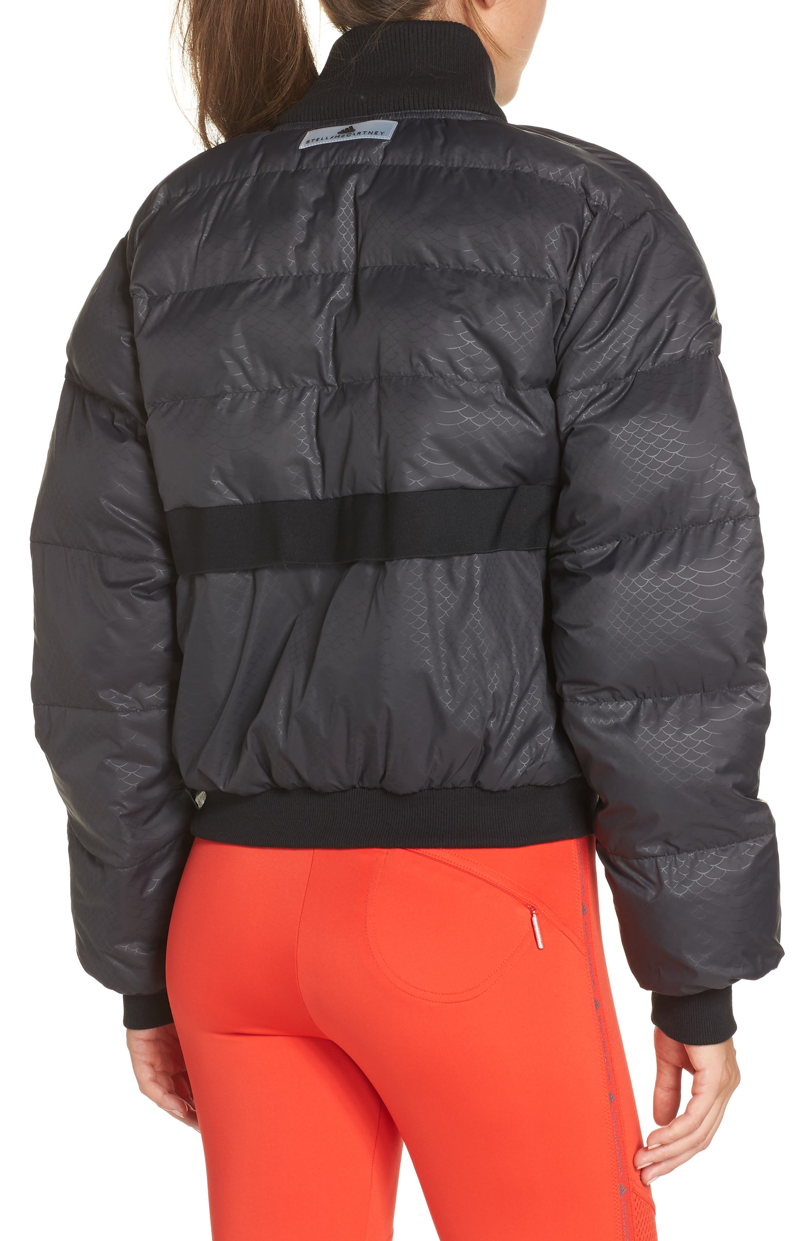 Crop Puffer Jacket,                             Alternate thumbnail 2, color,                             001