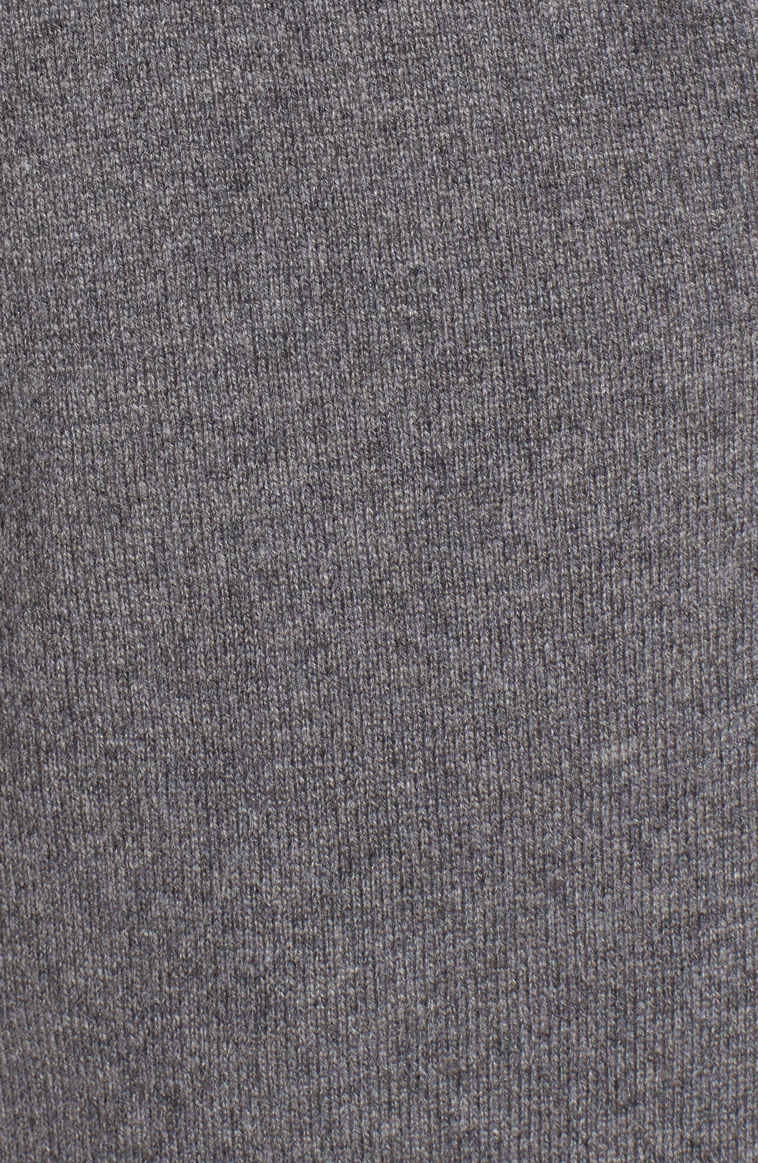 Side Tie Cashmere Blend Cardigan,                             Alternate thumbnail 5, color,