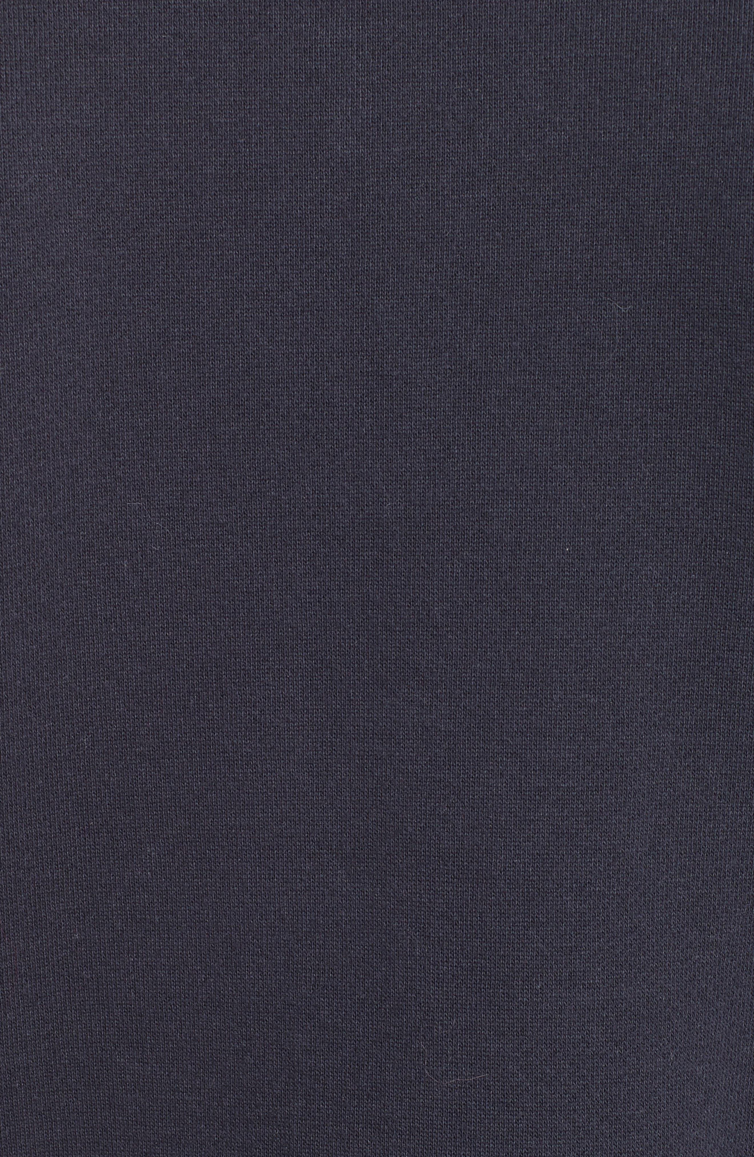 Turtleneck Fleece Zip Pullover,                             Alternate thumbnail 5, color,                             403