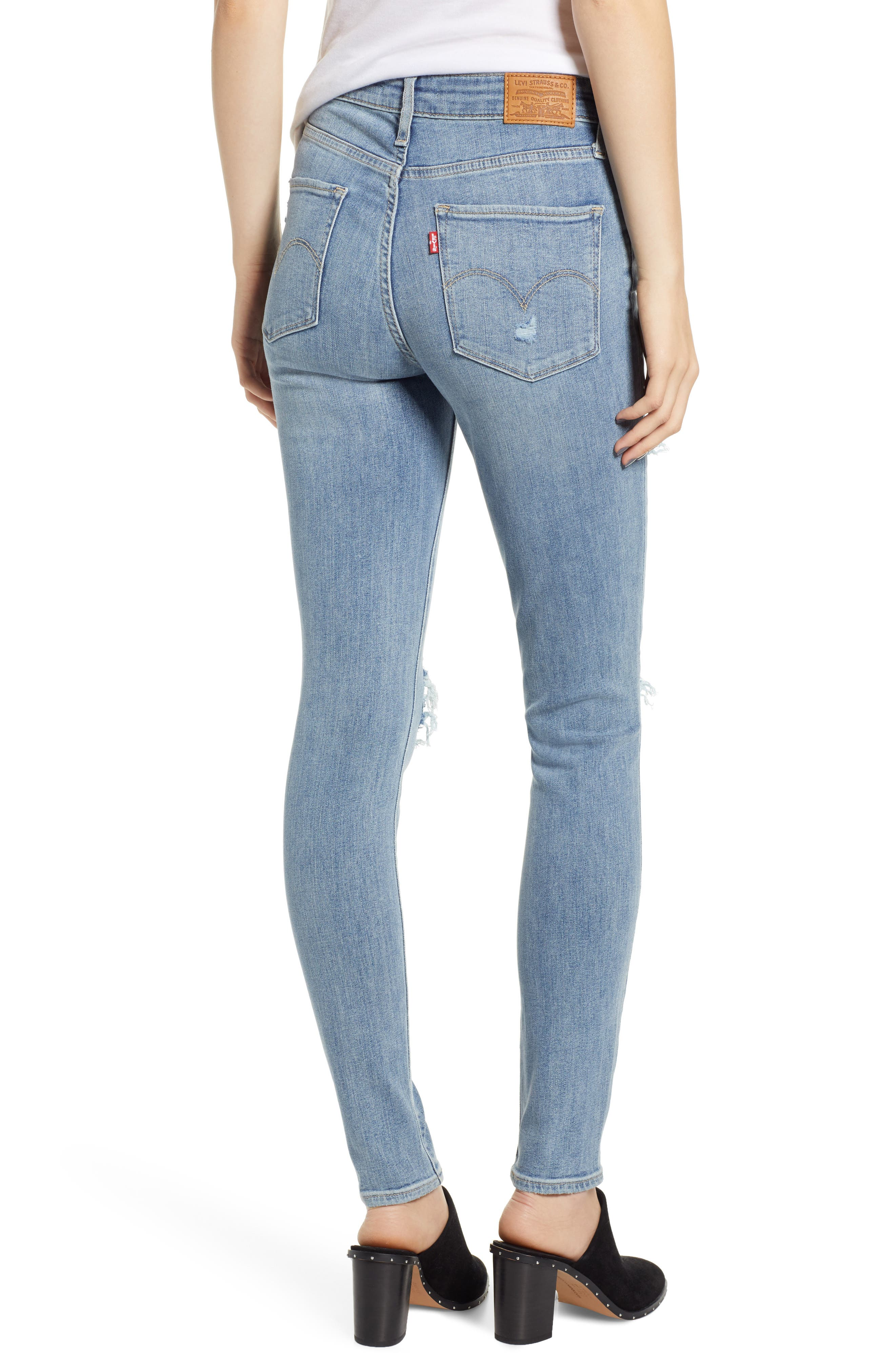 721<sup>™</sup> High Waist Skinny Jeans,                             Alternate thumbnail 2, color,                             SAY ANYTHING