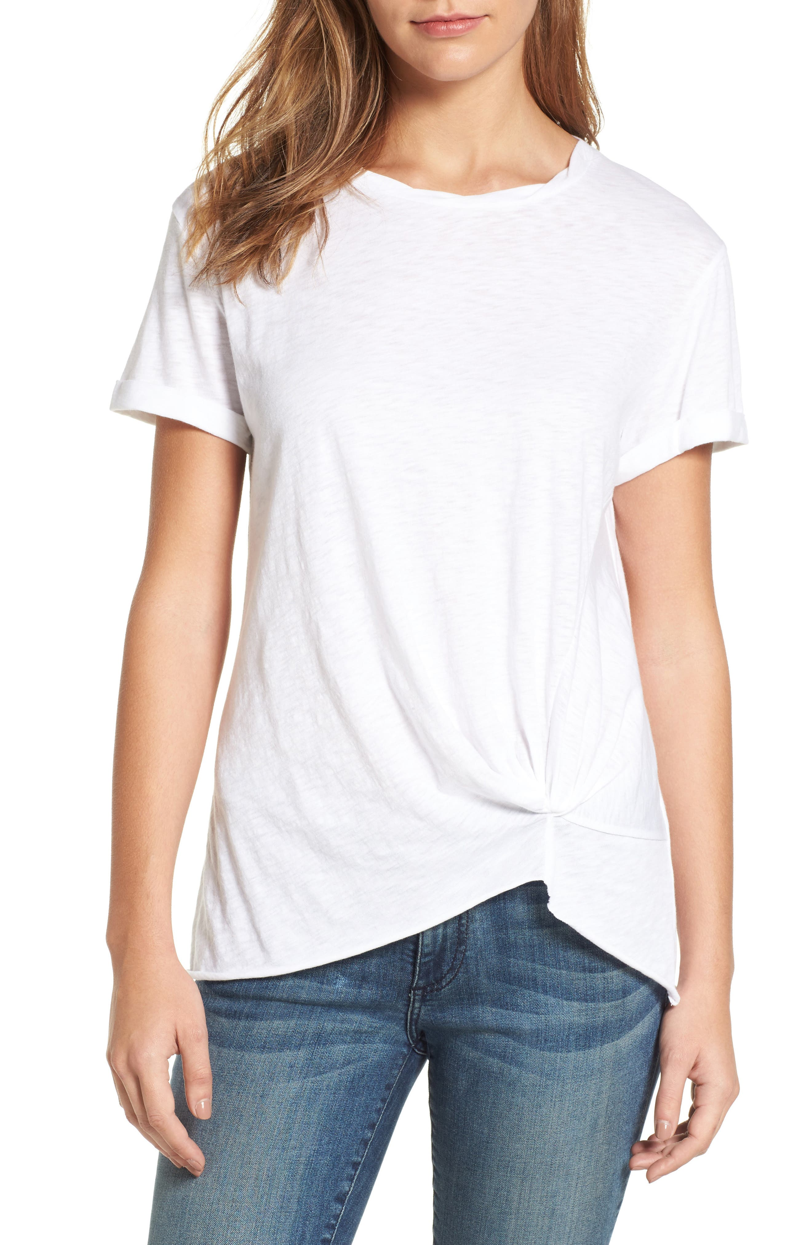 Knotted Tee,                             Main thumbnail 7, color,