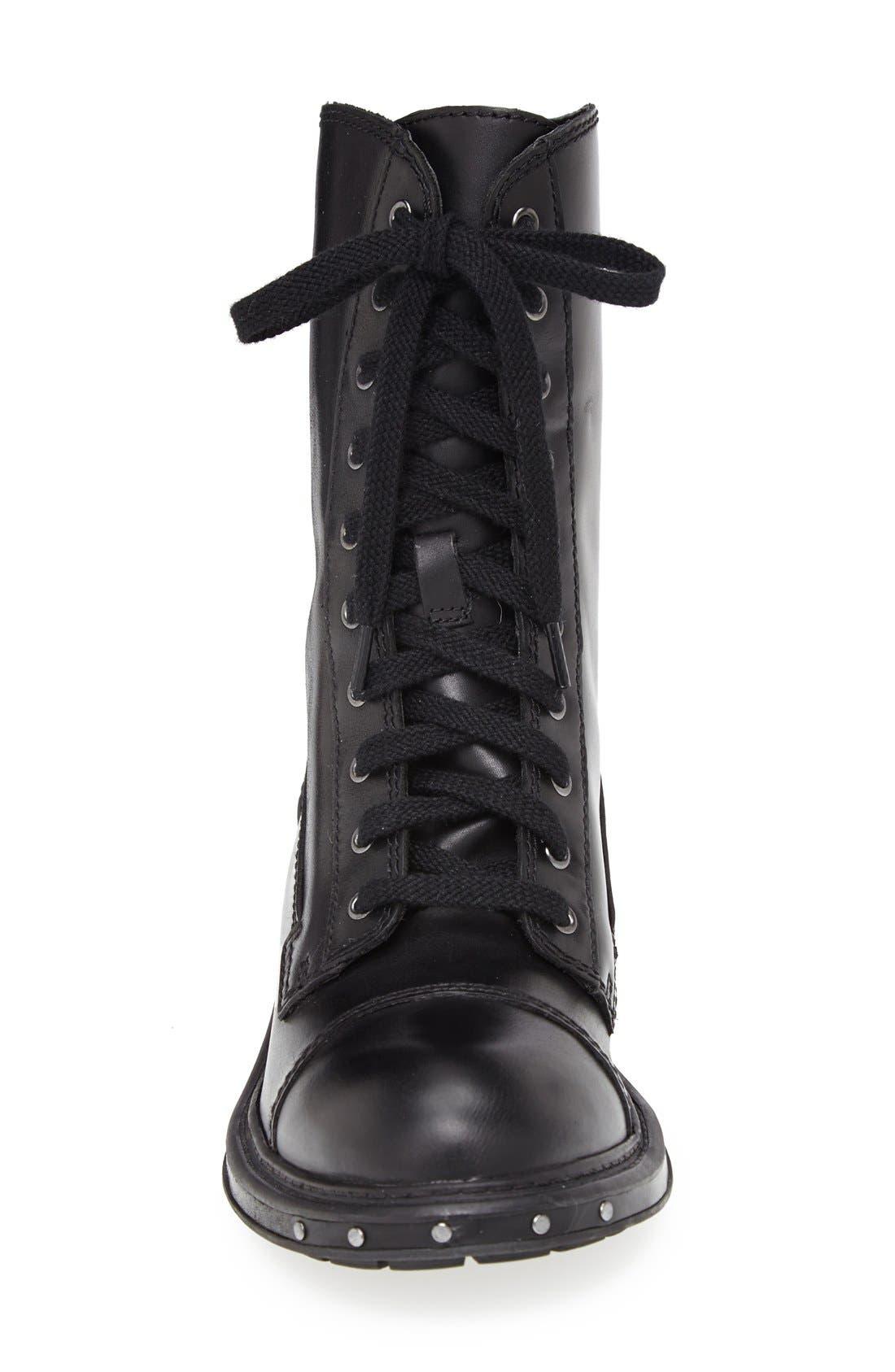NAYA,                             'Renata' Hand Finished Leather Boot,                             Alternate thumbnail 2, color,                             001